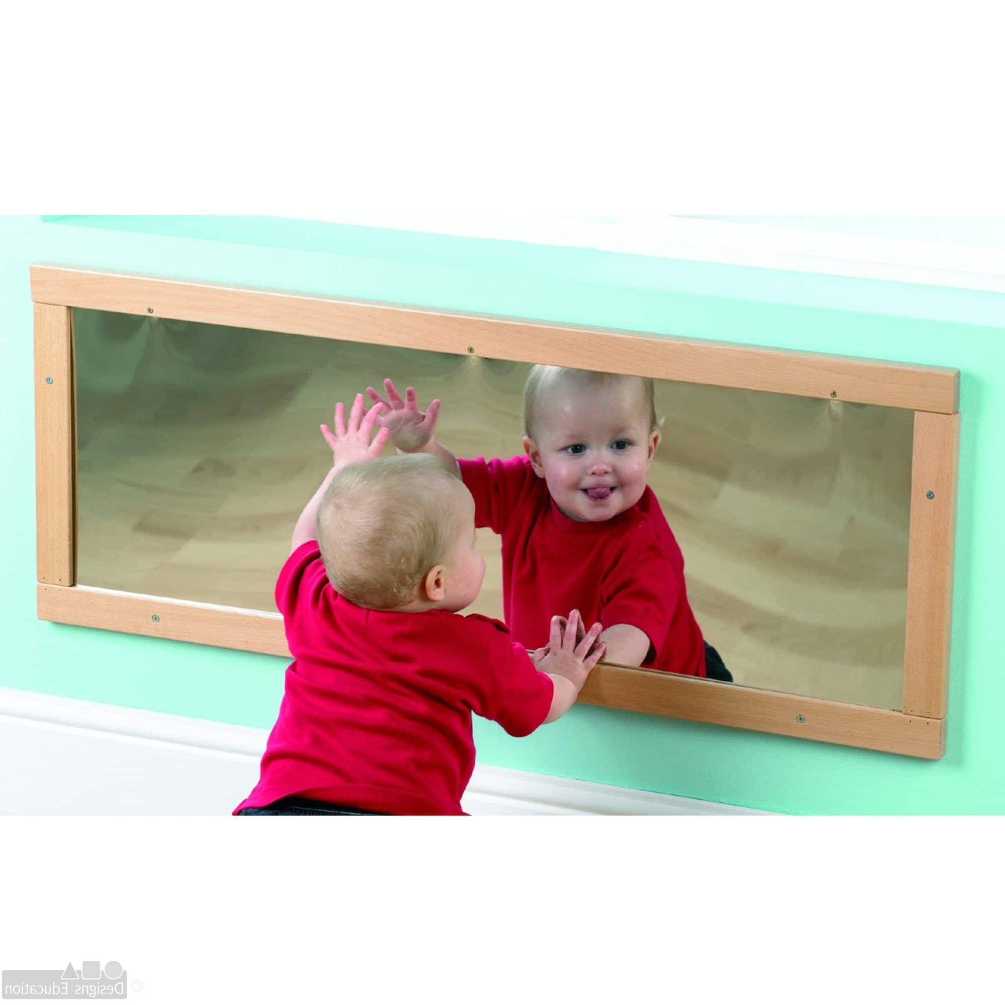 Current Low Level Wall Mirror – Designs For Education With Children Wall Mirrors (View 11 of 20)
