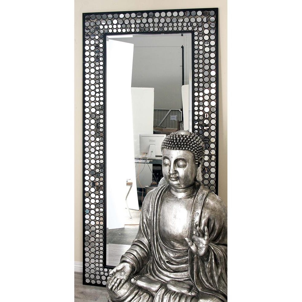 Current Mosaic Framed Wall Mirrors In 79 In. X 37 In (View 4 of 20)