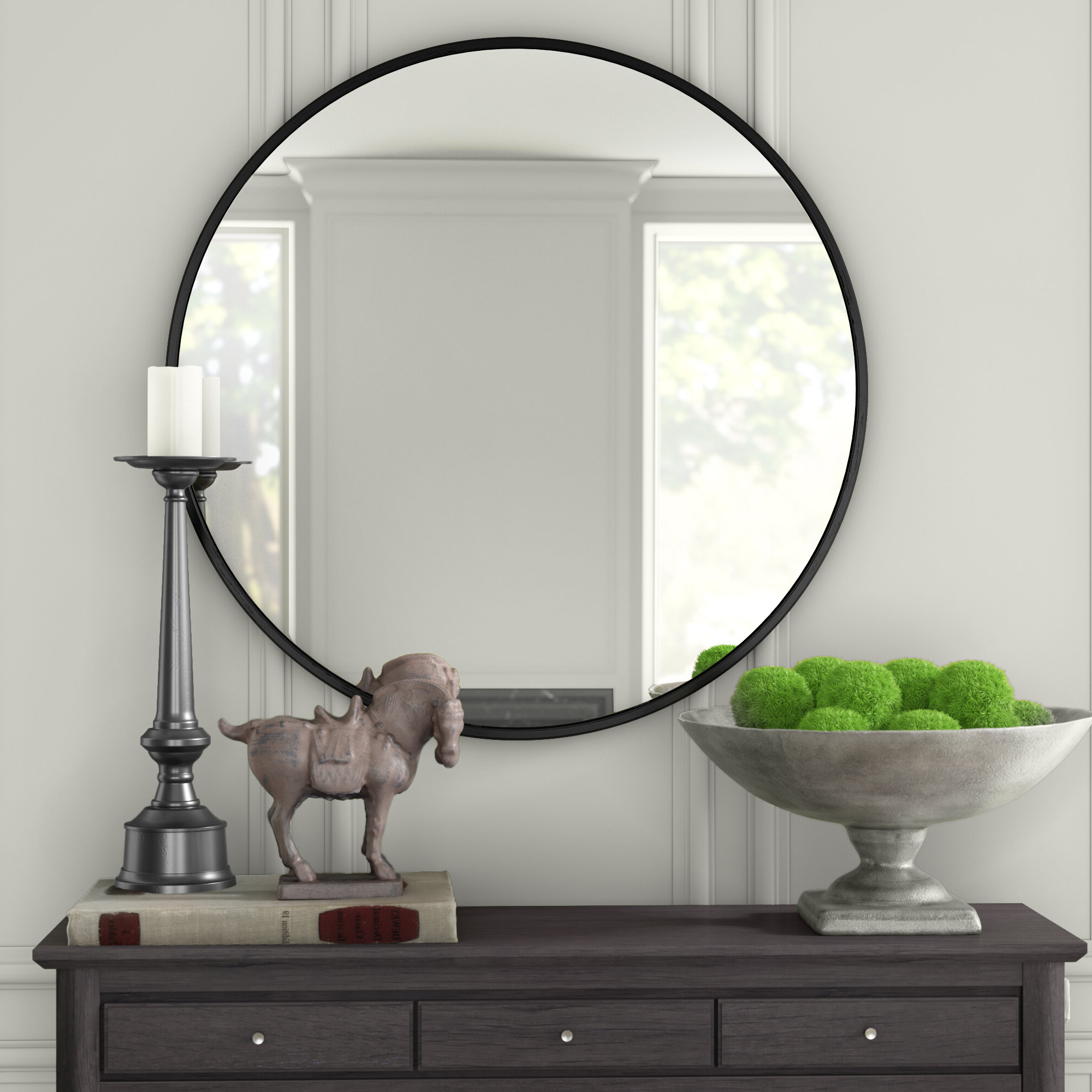 Current Needville Modern & Contemporary Accent Mirror Within Levan Modern & Contemporary Accent Mirrors (View 9 of 20)