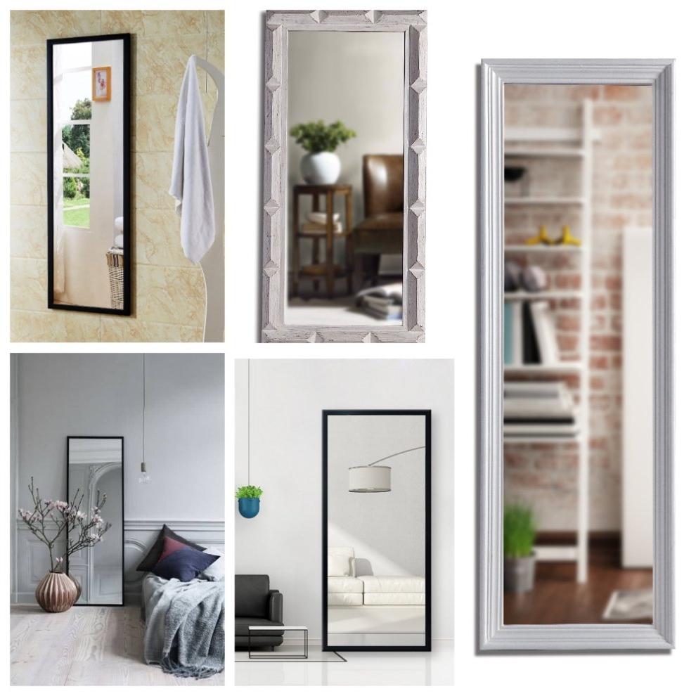 Current Ornate Full Length Wall Mirrors Intended For Dipamkar® Extra Large Ornate Wood Framed Full Length Wall Mirror Dressing  Hall Mirror (View 3 of 20)