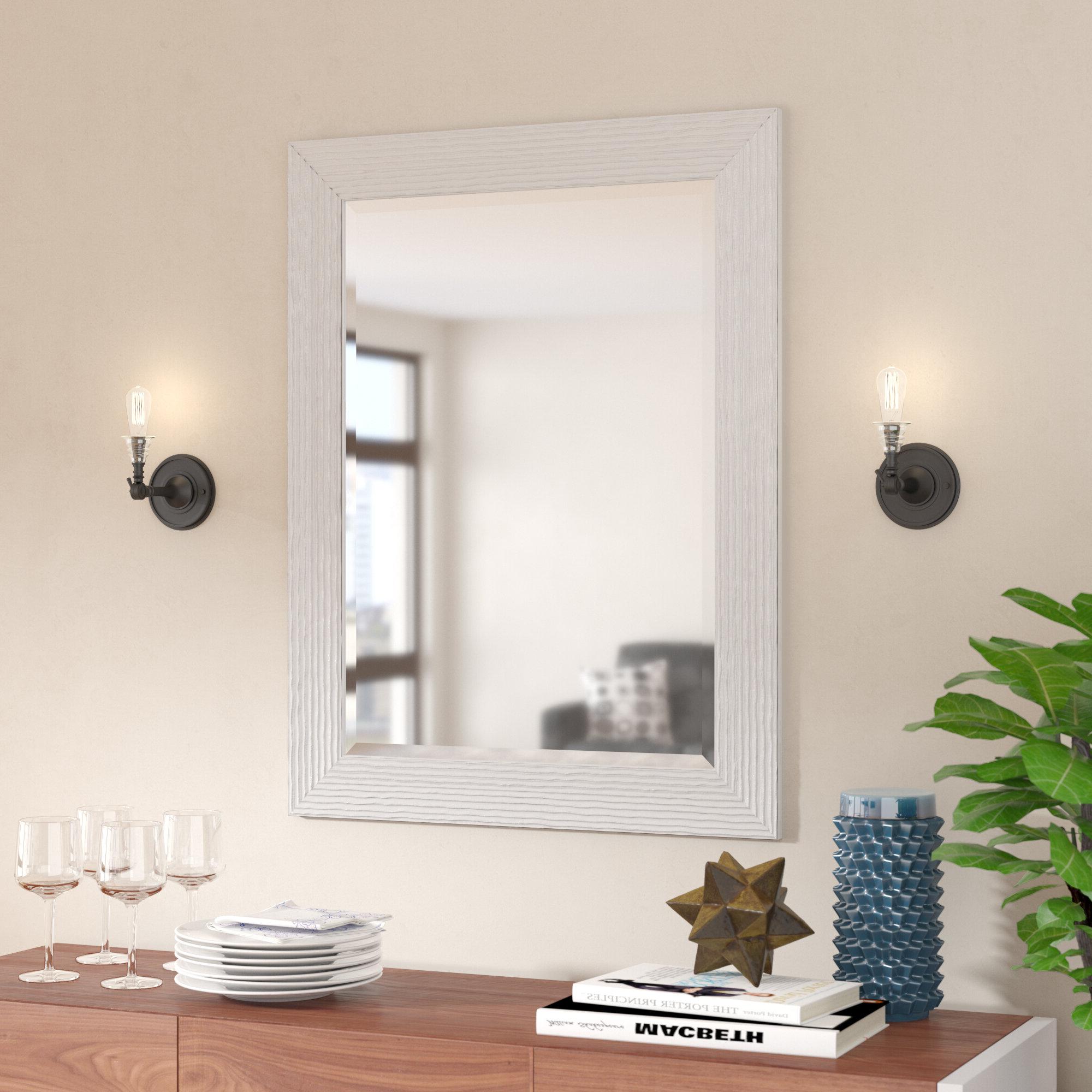 Current Rosen Accent Mirror Inside Burgoyne Vanity Mirrors (View 20 of 20)