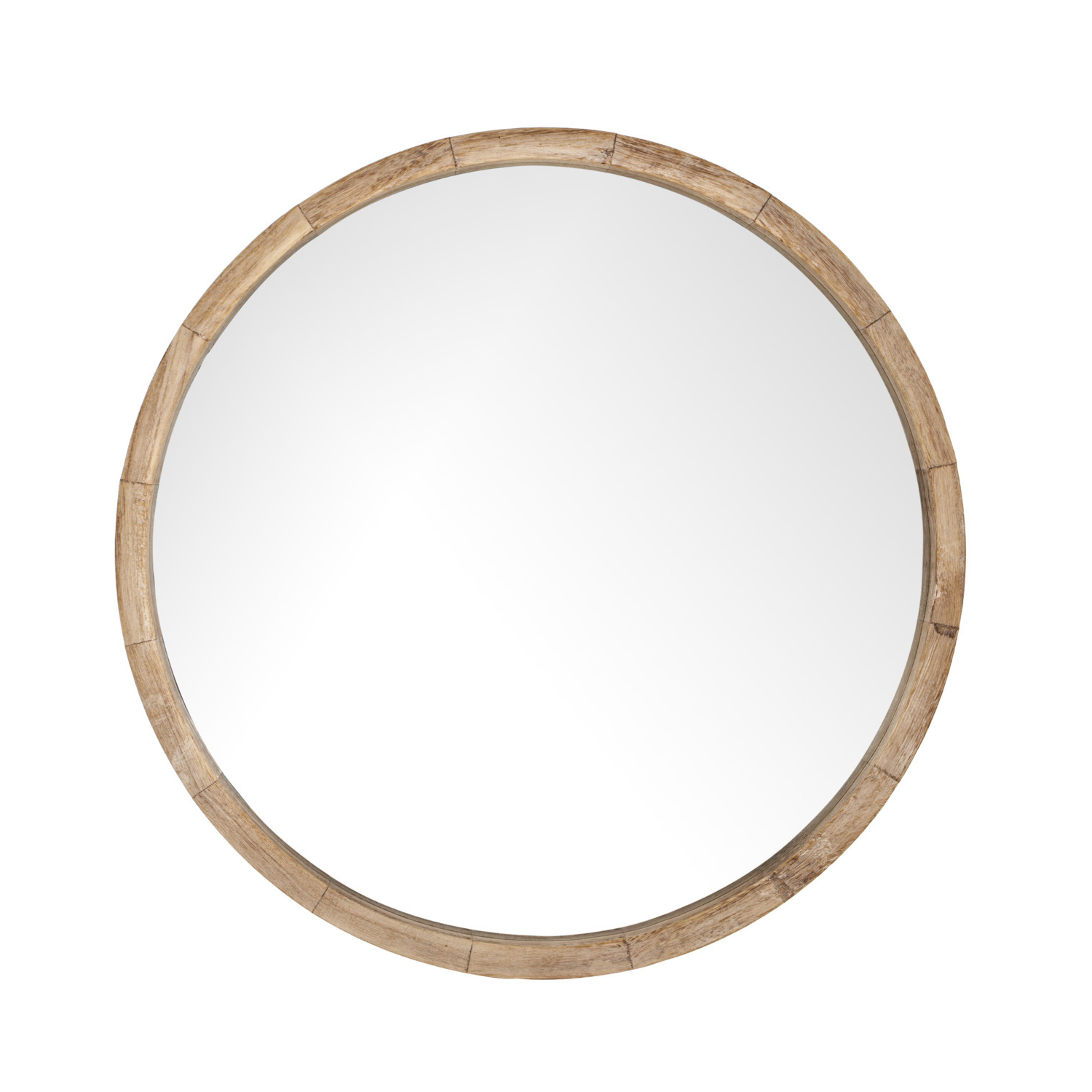 Current Round Wood Wall Mirrors With Regard To Solid Wood Round Mirror (View 5 of 20)