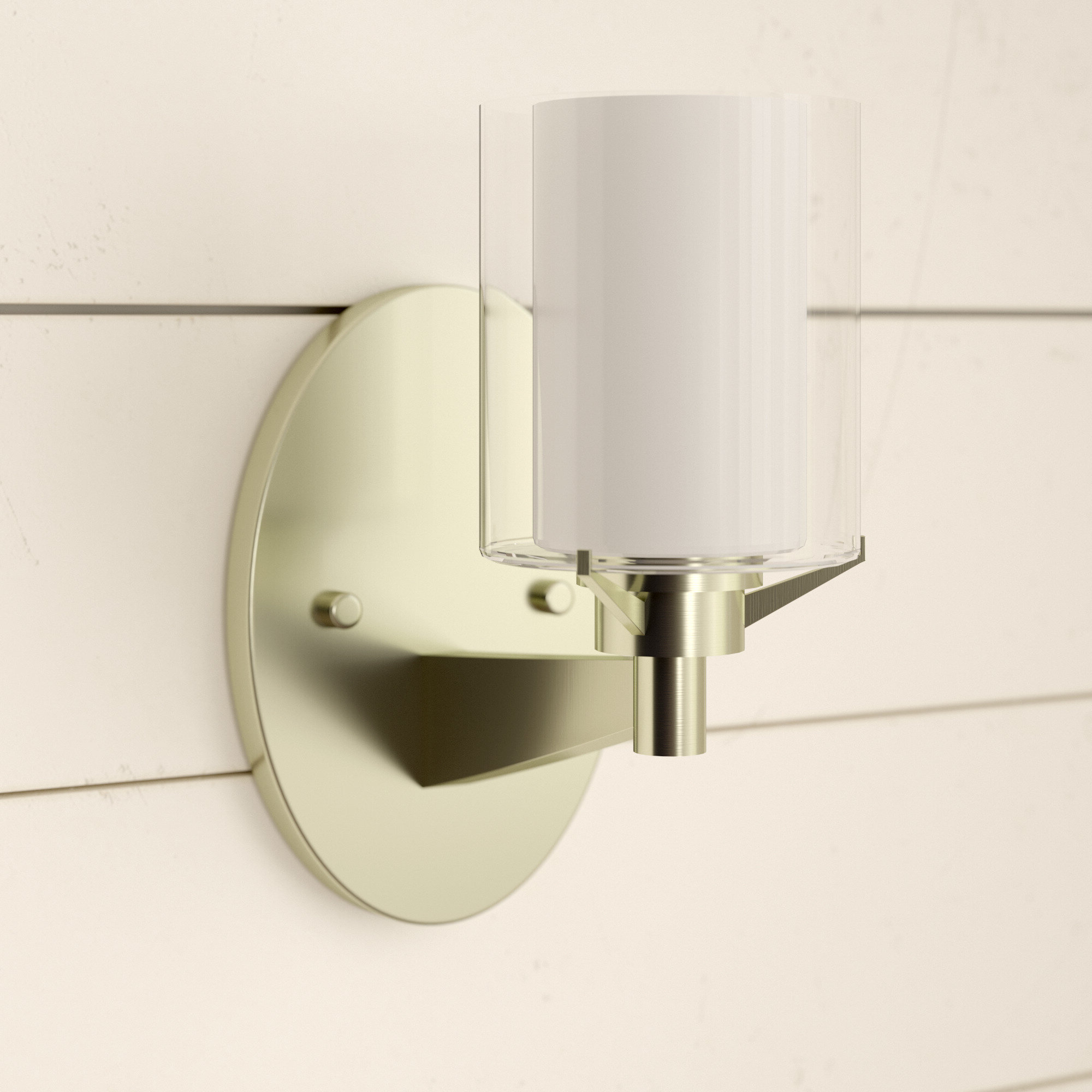 Current Sartain Modern & Contemporary Wall Mirrors Throughout Johns Contemporary 1 Light Armed Sconce (View 5 of 20)