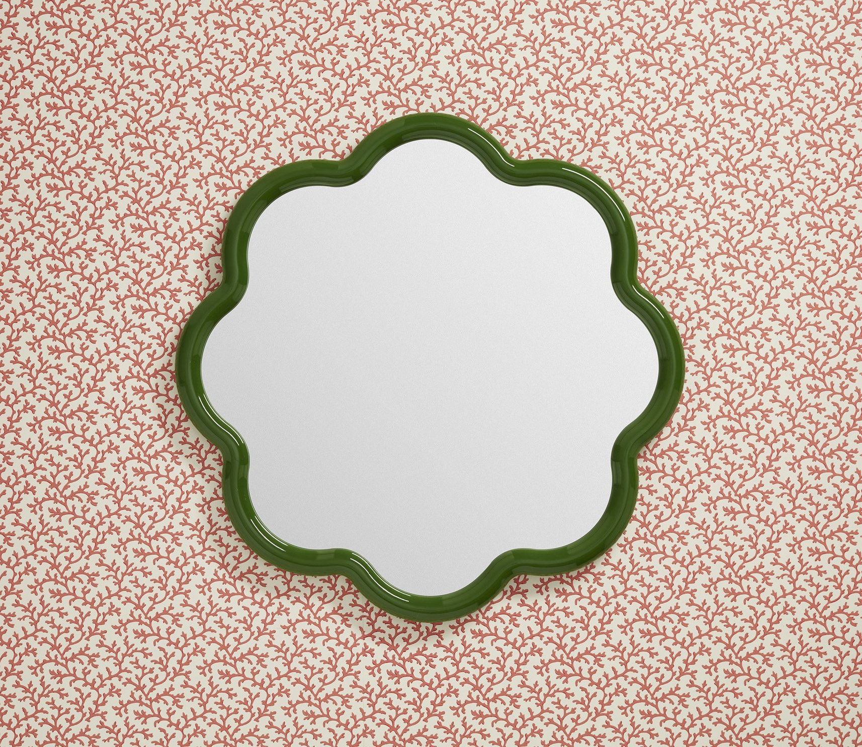 Current Small Oval Wall Mirrors Inside Flora Wall Mirror Small 3 Piece Set Unique Decorative Mirrors (View 6 of 20)