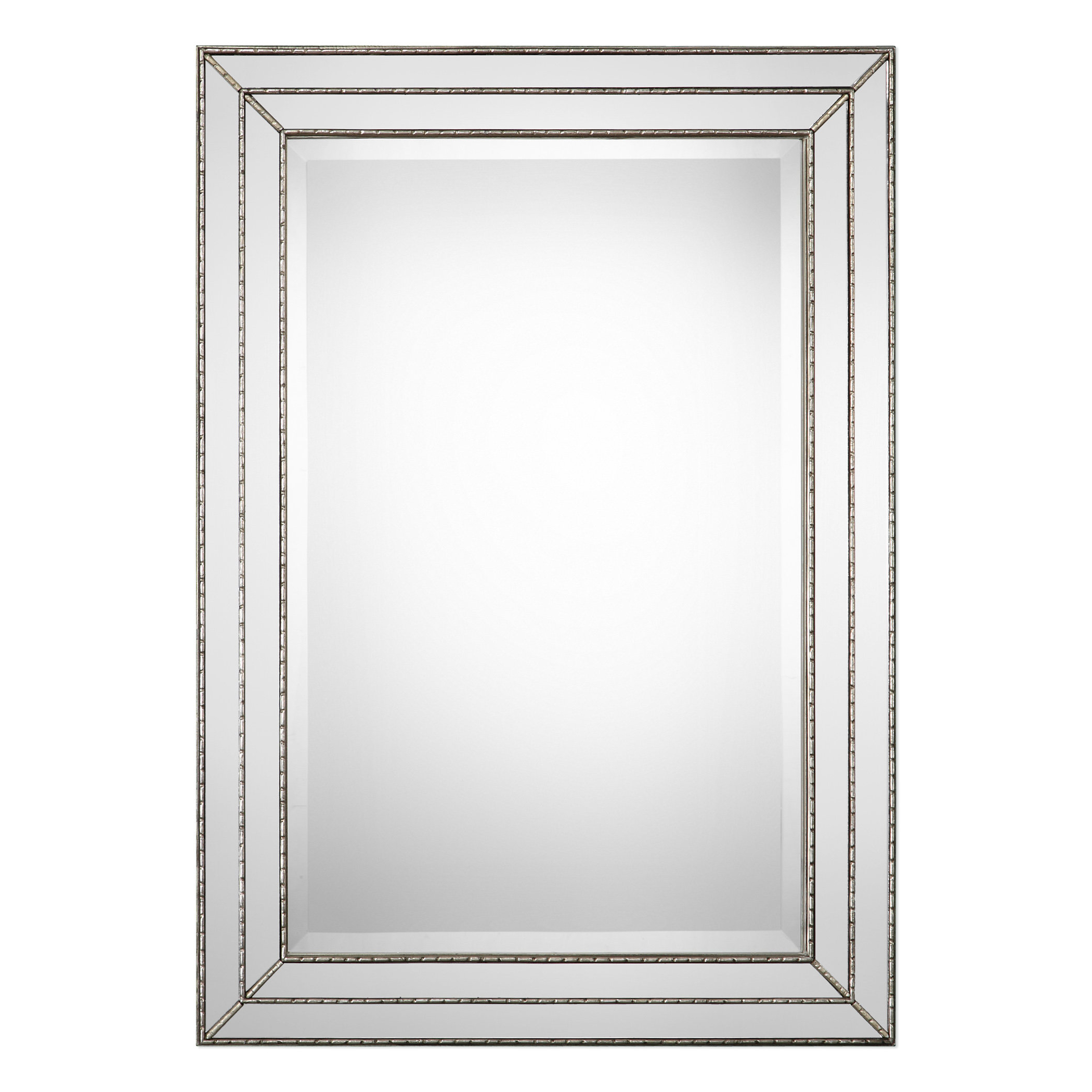 Current Traditional Beveled Wall Mirrors For Willacoochee Traditional Beveled Accent Mirror (View 11 of 20)
