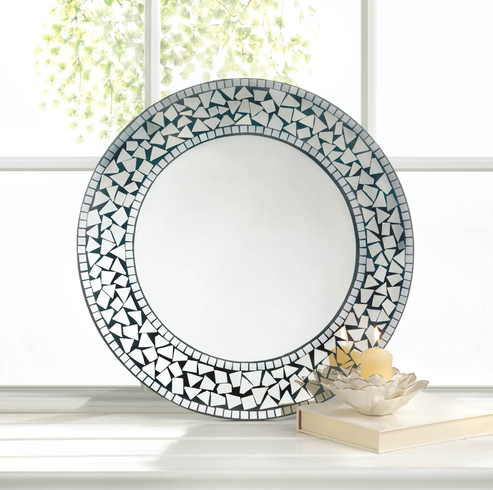 Current Wholesale Round Mosaic Wall Mirror In Round Mosaic Wall Mirrors (View 3 of 20)