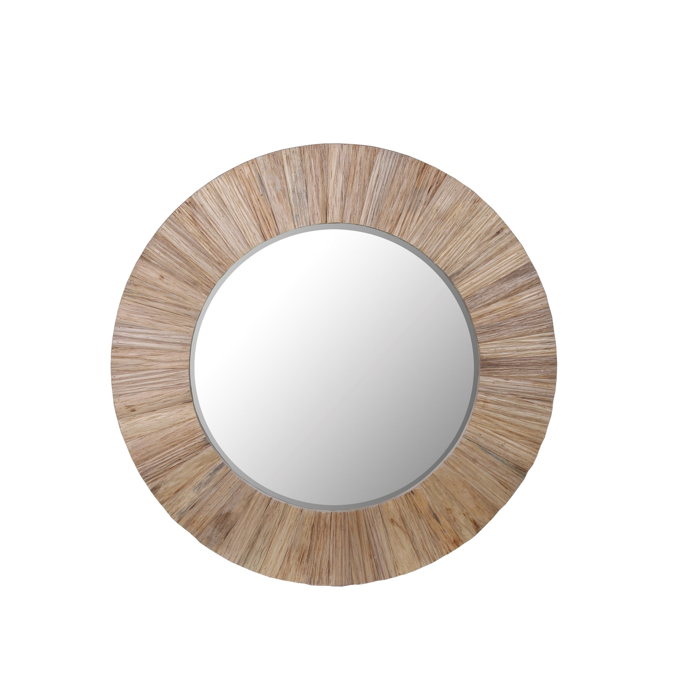 Current Wood Accent Mirrors Inside Privilege White Wood Accent Mirror (View 4 of 20)