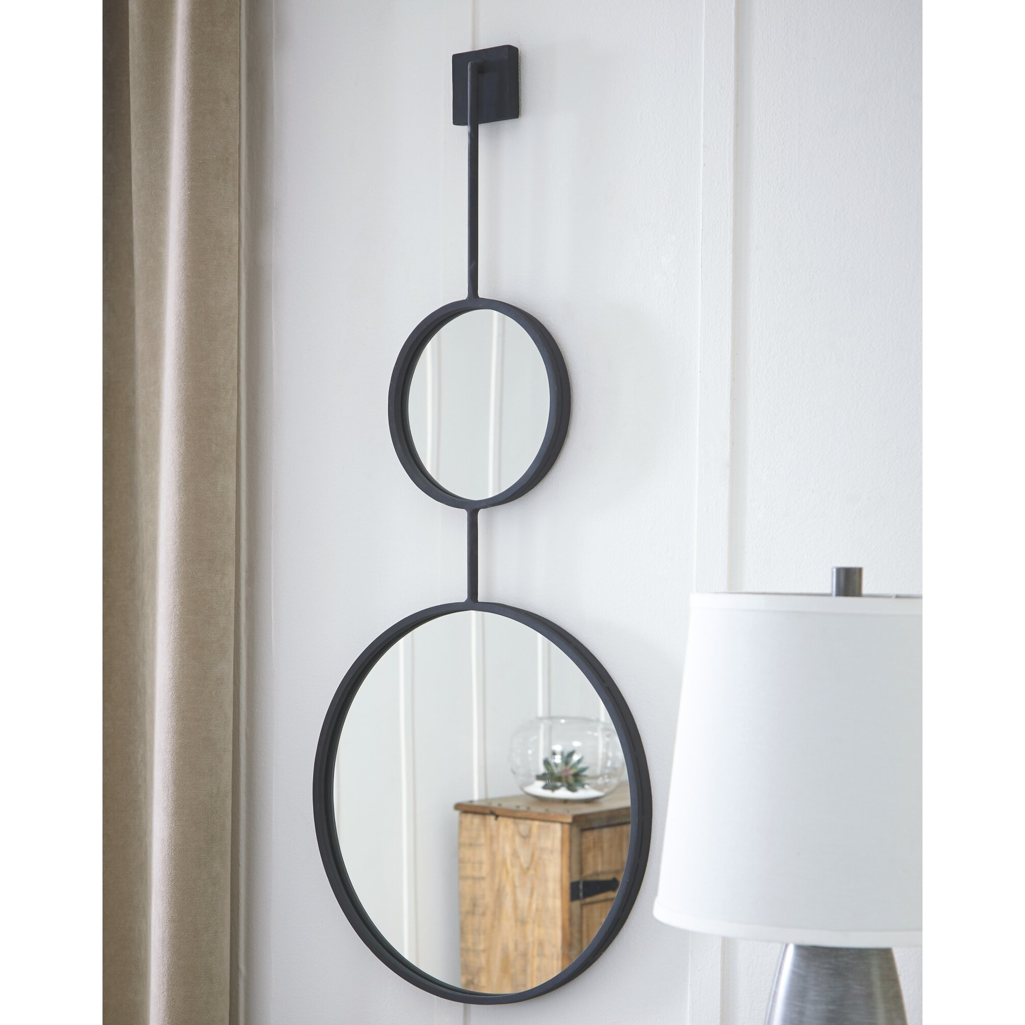 Current Yatendra Cottage/country Beveled Accent Mirrors With Regard To Wrought Studio Moorman Modern & Contemporary Accent Mirror (View 17 of 20)