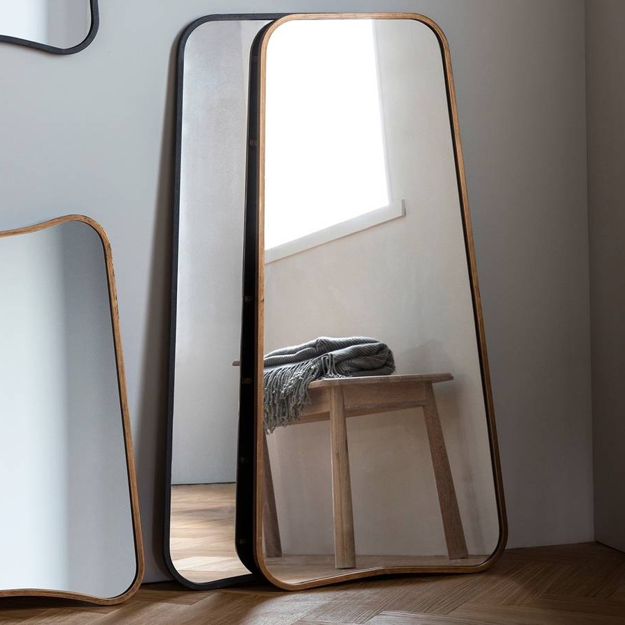 Curved Wall Or Leaning Mirror For Most Recent Leaning Wall Mirrors (View 4 of 20)