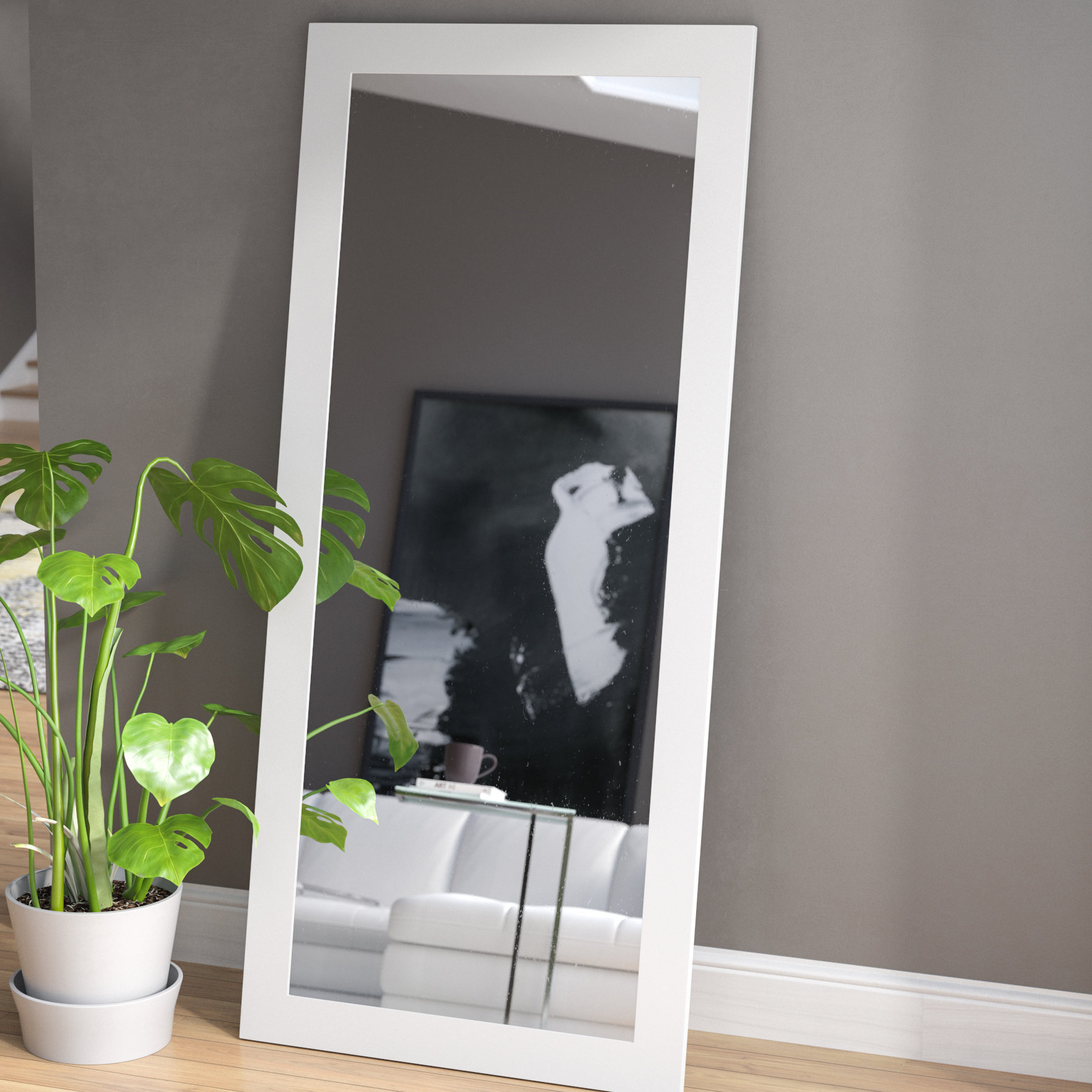 Dalessio Wide Tall Full Length Mirrors With Regard To Trendy Polzin Full Length Mirror (View 9 of 20)