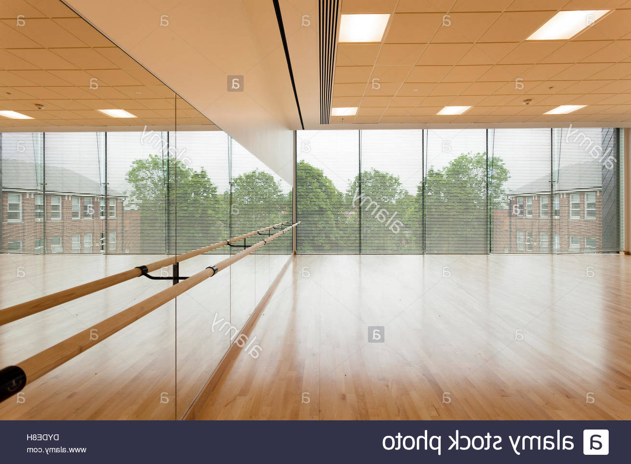 Dance Studio And Mirror Wall At Notting Hill And Ealing High School With Regard To Most Recently Released Dance Studio Wall Mirrors (Gallery 2 of 20)