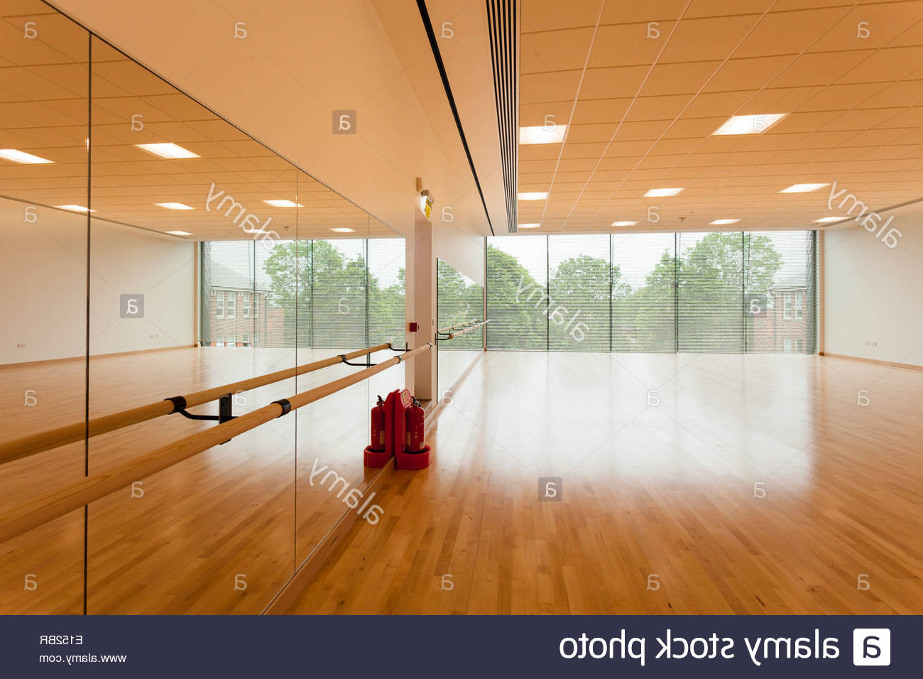 Dance Studio And Mirror Wall At Notting Hill Ealing High School In Trendy Dance Studio Wall Mirrors (Gallery 3 of 20)