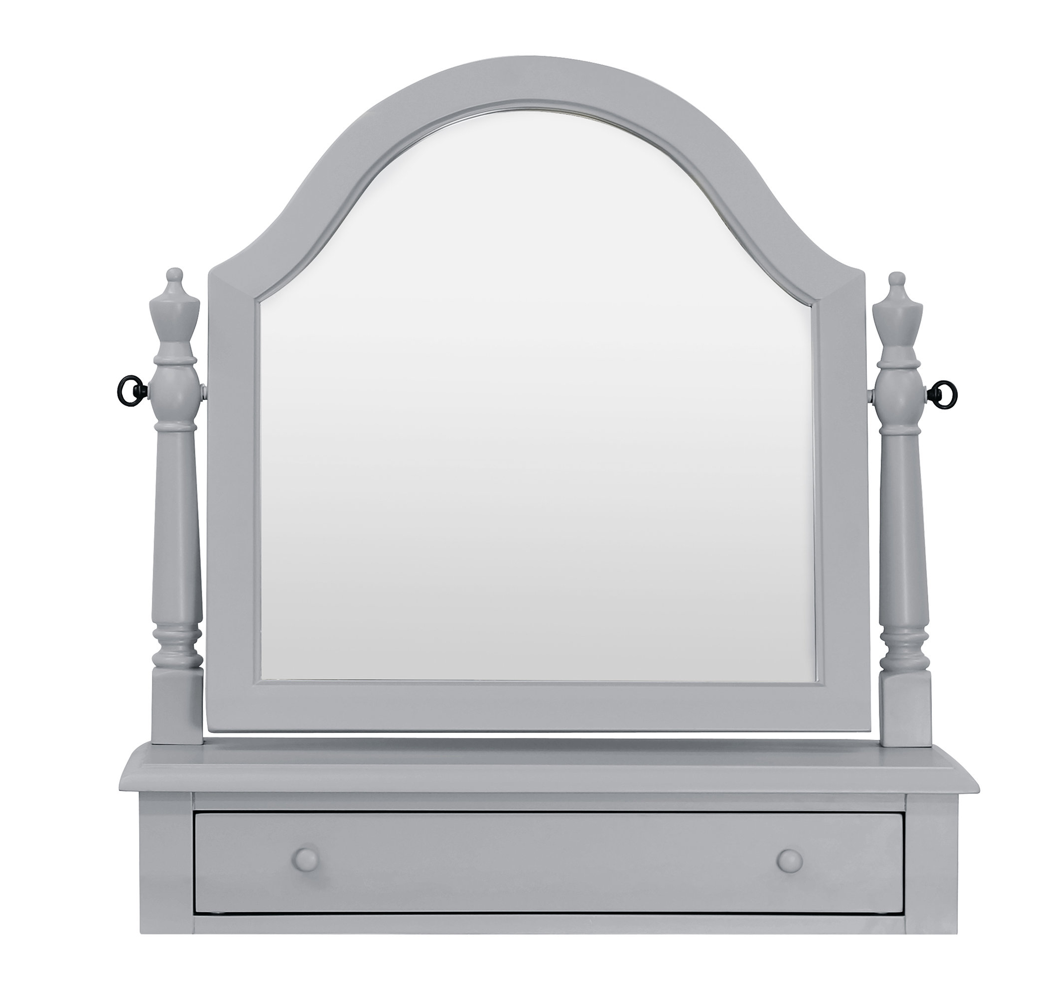 Dariel Tall Arched Scalloped Wall Mirrors For Well Liked Sullivan Arched Dresser Mirror (View 6 of 20)