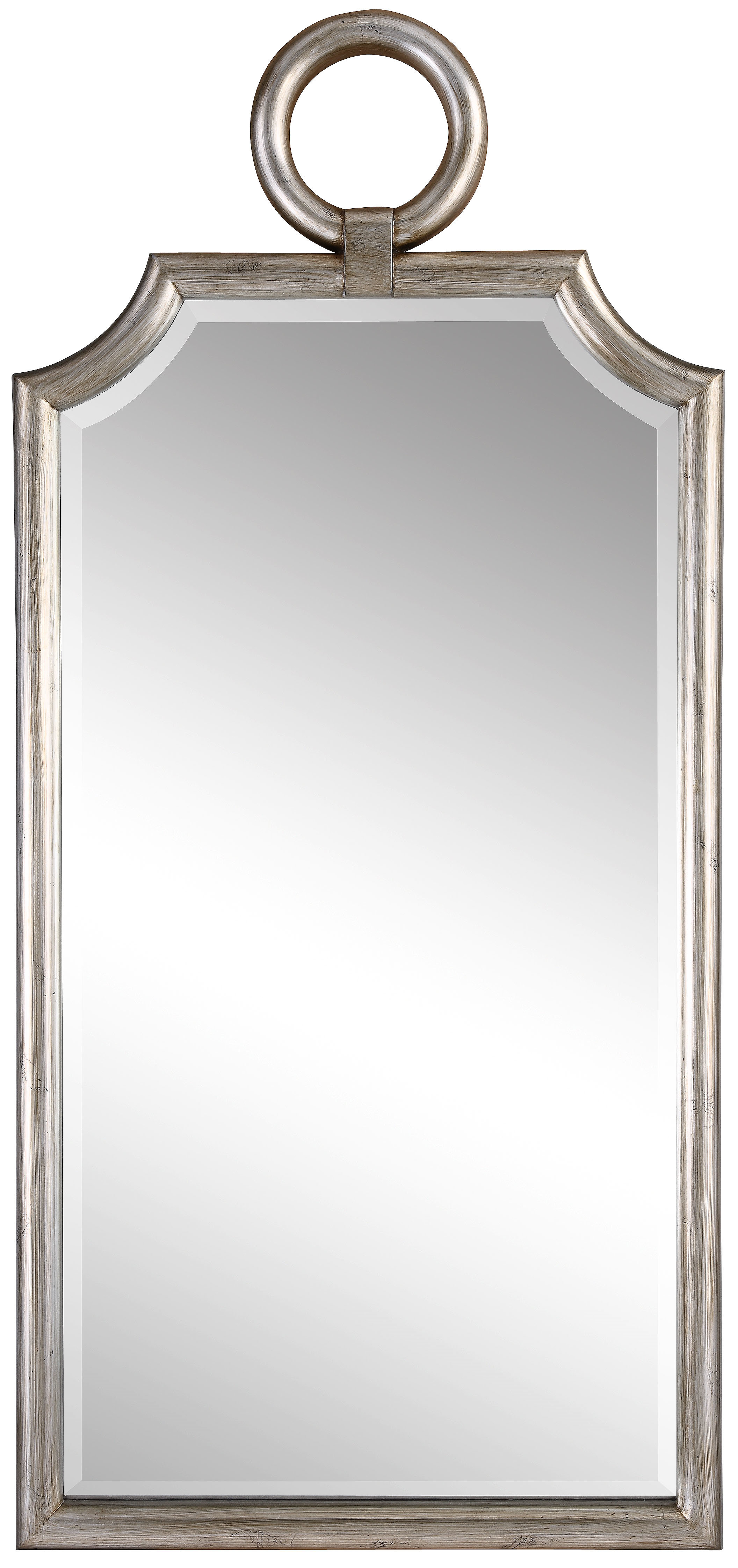 Dariel Tall Arched Scalloped Wall Mirrors Throughout 2020 Mirabel Accent Mirror (View 9 of 20)