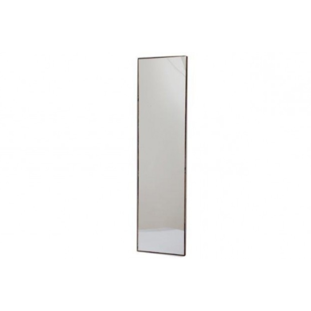 Dark Wood Wall Mirrors Intended For Most Up To Date 121X31Cm Dark Wood Wall Mirror (Gallery 11 of 20)