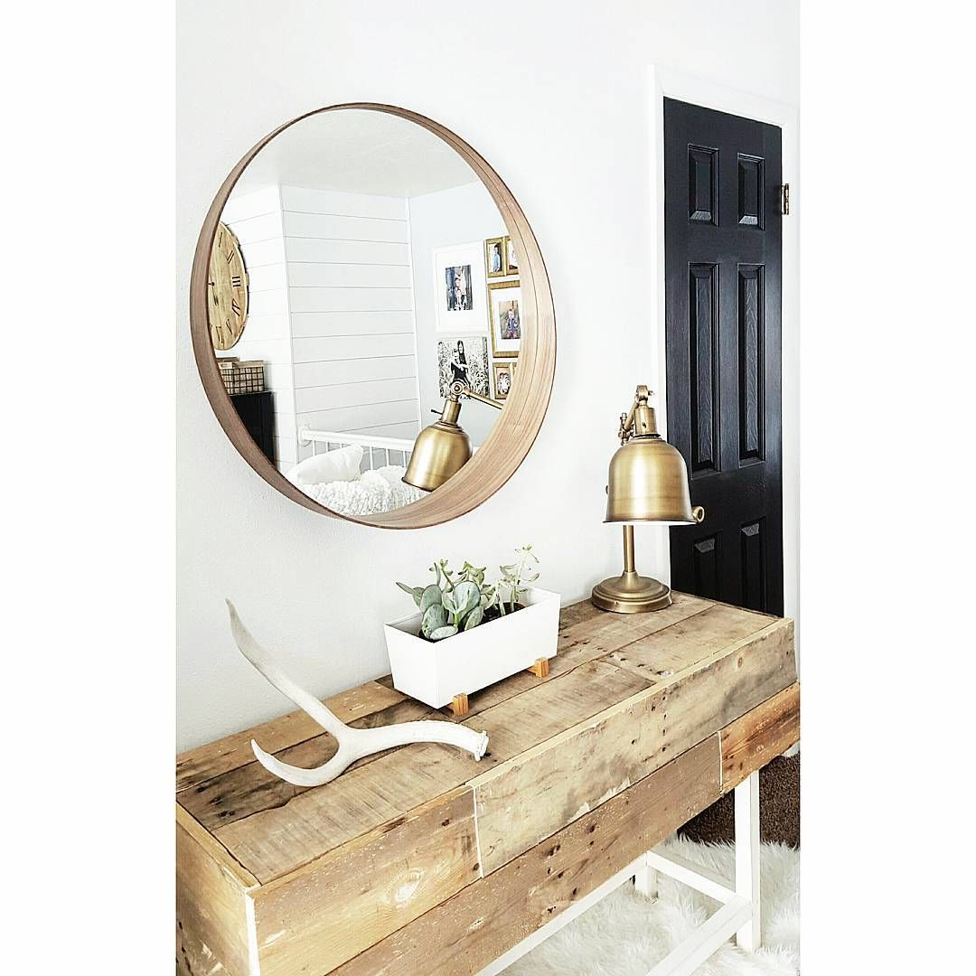 Decor: Leaner Mirror Ikea For Your Cool Home Furnishing Within Fashionable Large Wall Mirrors Ikea (View 2 of 20)