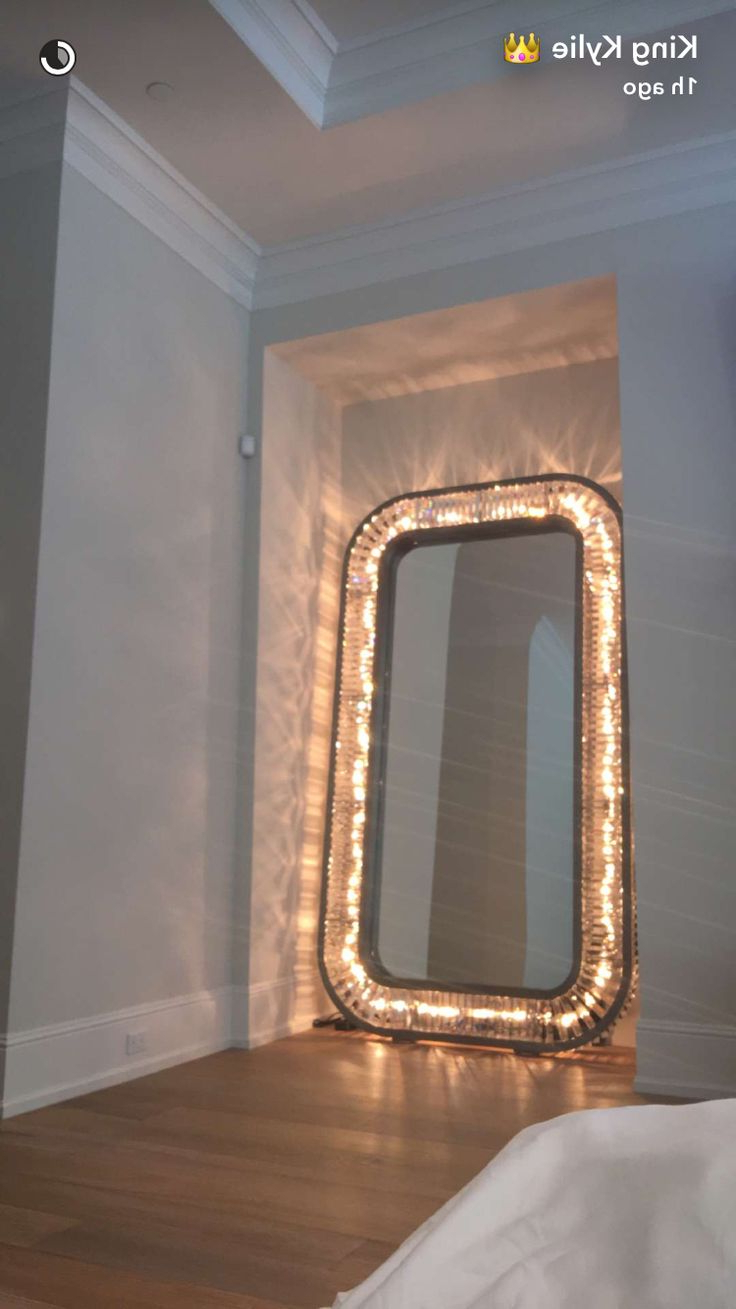 Decorating: Outstanding Frameless Full Length Mirror Warm Design For Inside Trendy Cute Wall Mirrors (View 7 of 20)