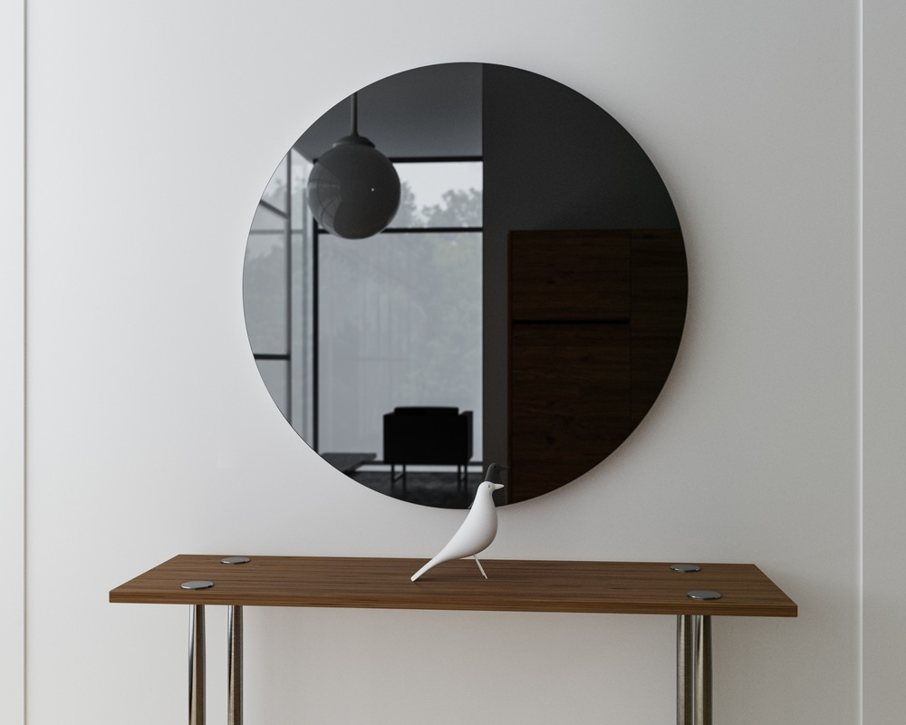 Decorative Black Wall Mirrors Throughout Current Black Wall Mirror Decorative Ideas Frame Unique Mirrors Fancy (View 8 of 20)