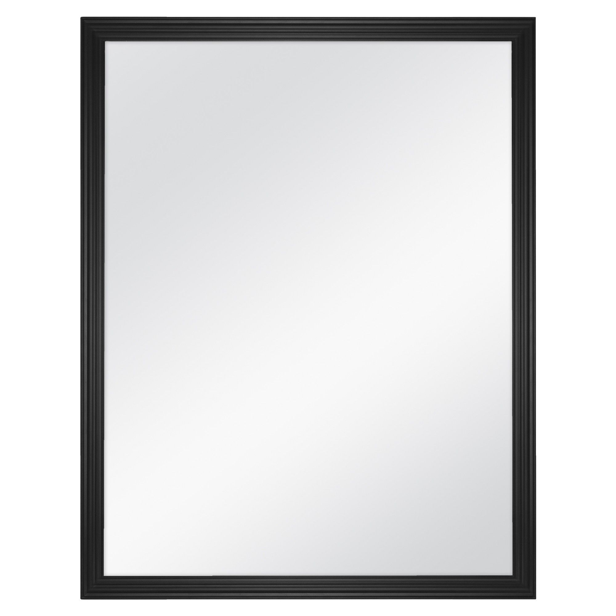 """Decorative Contemporary Wall Mirrors Intended For Widely Used 18""""x23"""" Decorative Wall Mirror Black – Room Essentials (View 20 of 20)"""
