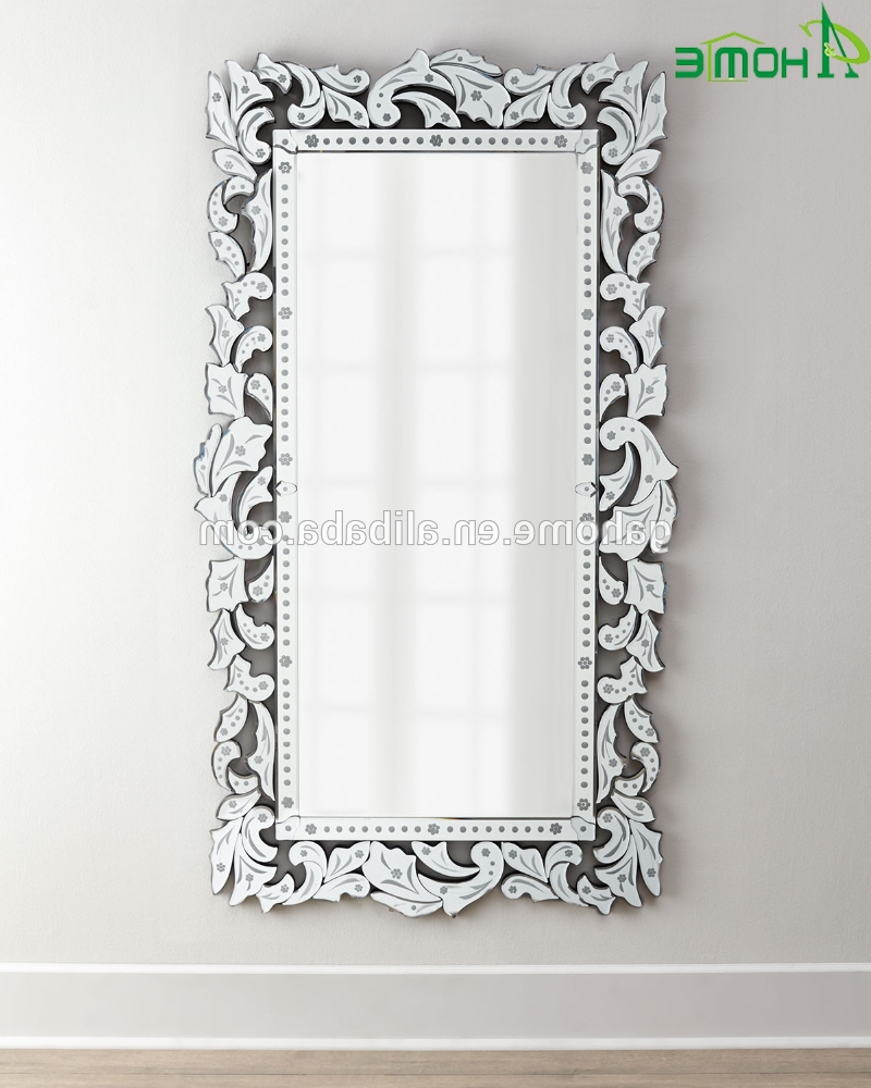 Decorative Full Length Wall Mirrors In Famous Fancy Full Length Long Decorative Venetian Wall Mirror – Buy Full Length  Long Mirror,venetian Mirror,venetian Wall Mirror Product On Alibaba (View 4 of 20)