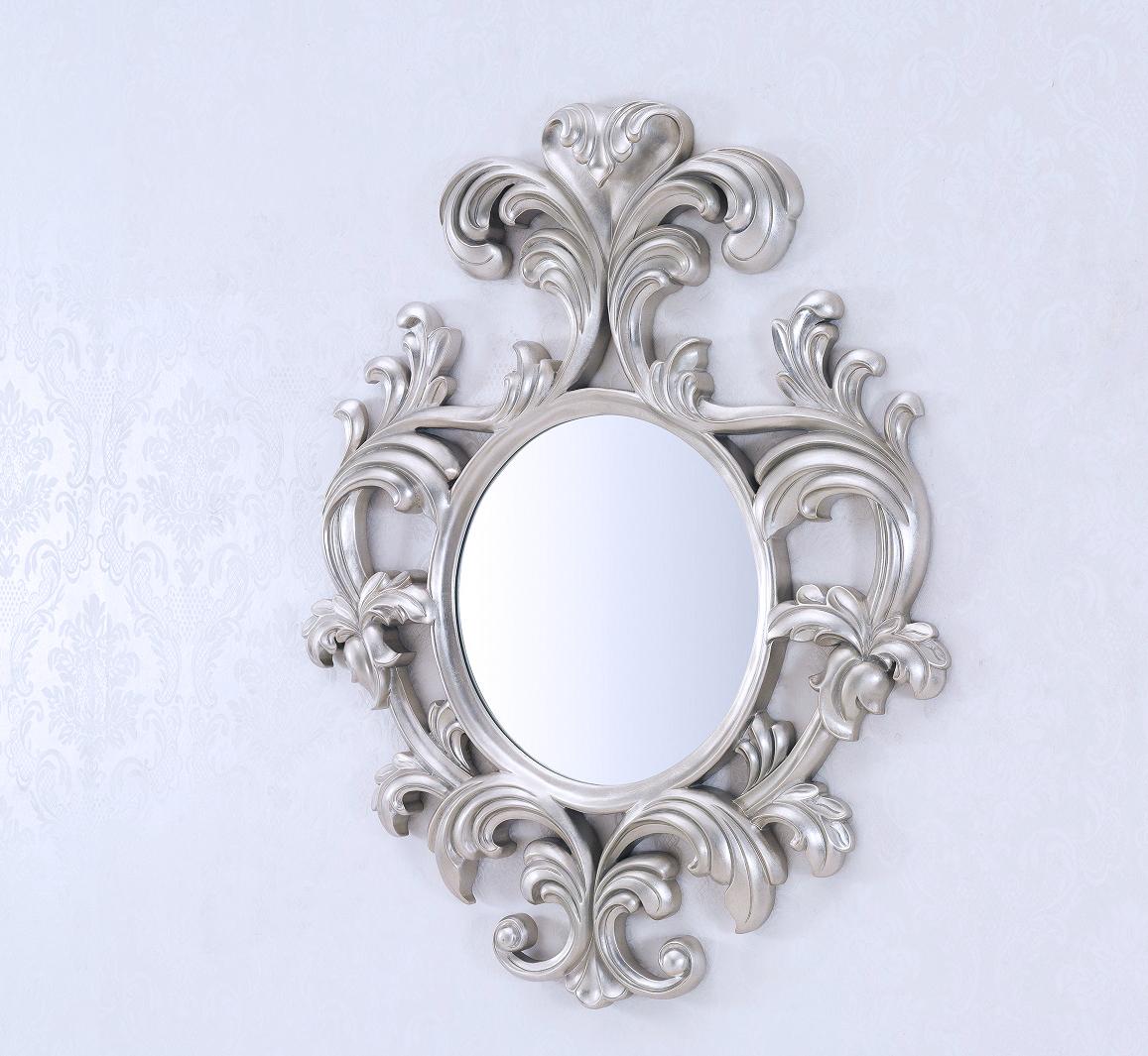 Decorative Wall Mirror – Geneve Silver Throughout Popular Small Decorative Wall Mirrors (View 4 of 20)