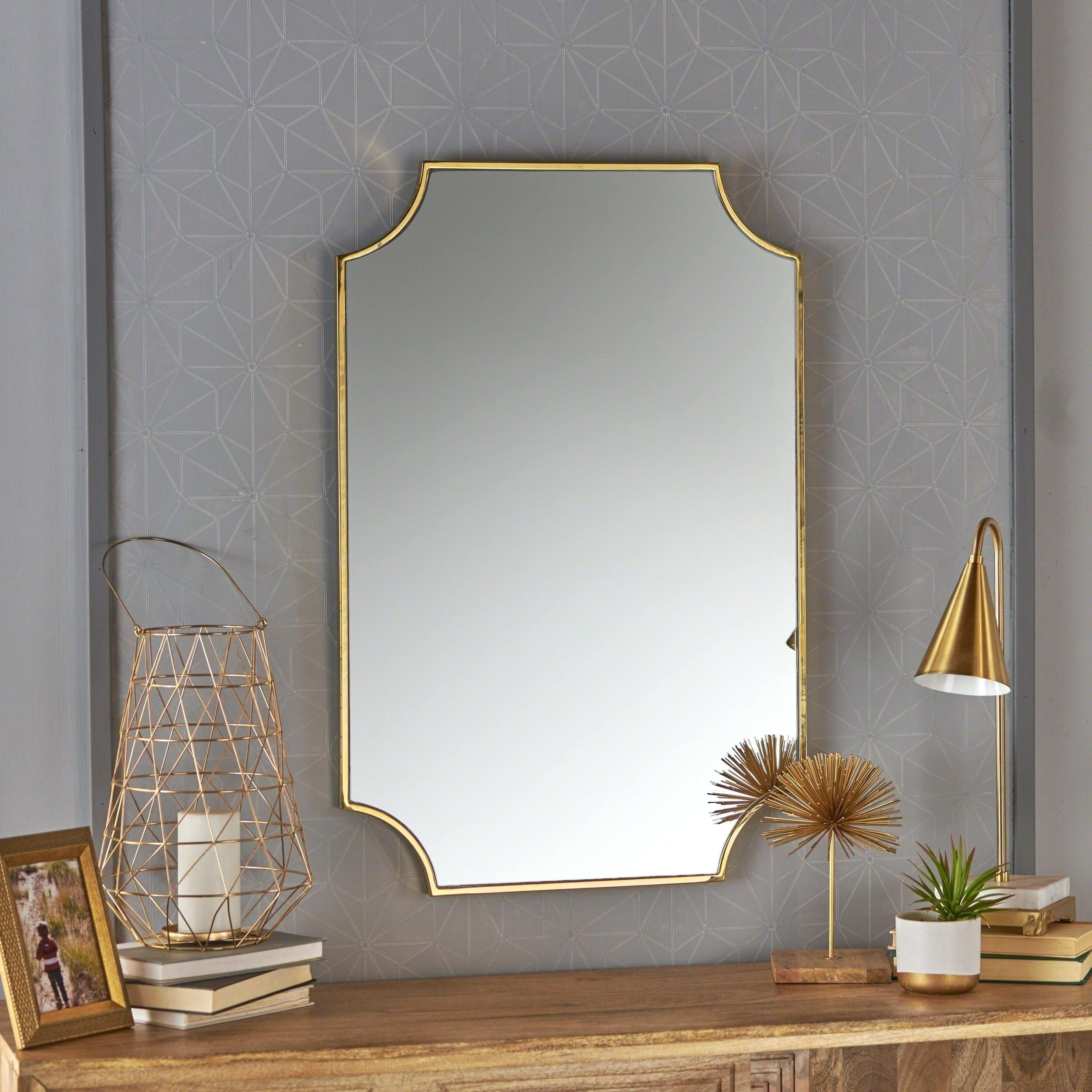 Decorative Wall Mirror Sets Throughout Well Known Large Decorative Wall Mirror Sets Small Mirrors For Living Room Gold (View 2 of 20)