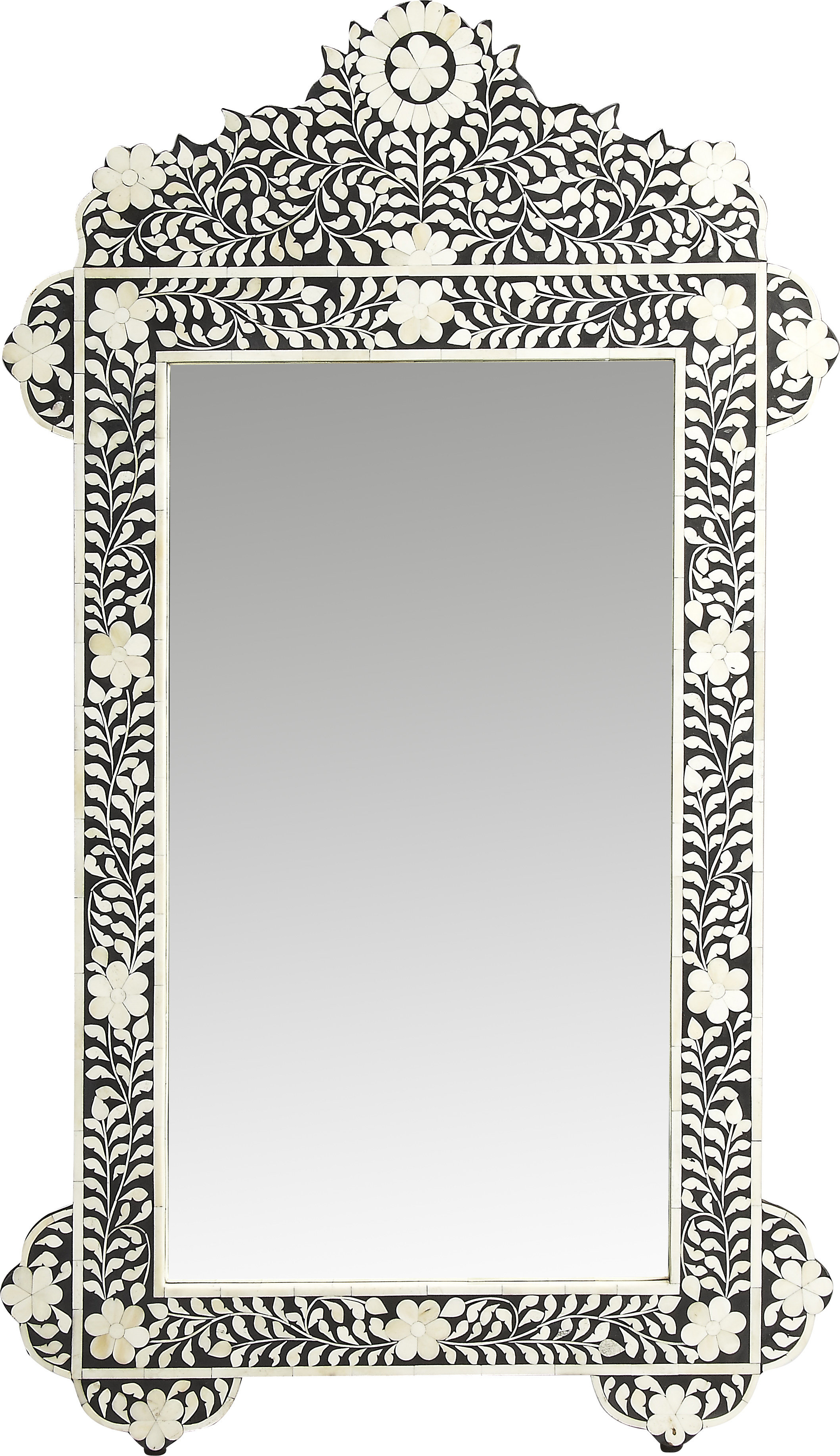 Dennison Bone Inlay Vertical Wall Mirror Within Most Popular Vertical Wall Mirrors (View 16 of 20)