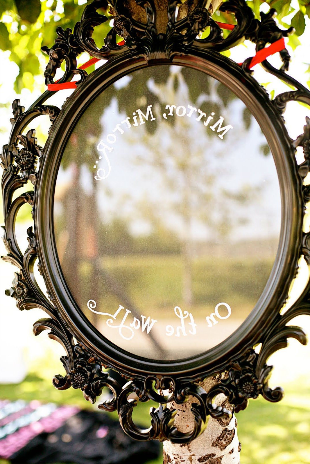 Disney Wall Mirrors Intended For Most Recently Released Hi Ho, Hi Ho, Lydia's 3rd Birthday We Go – Mirror, Mirror On The (View 10 of 20)