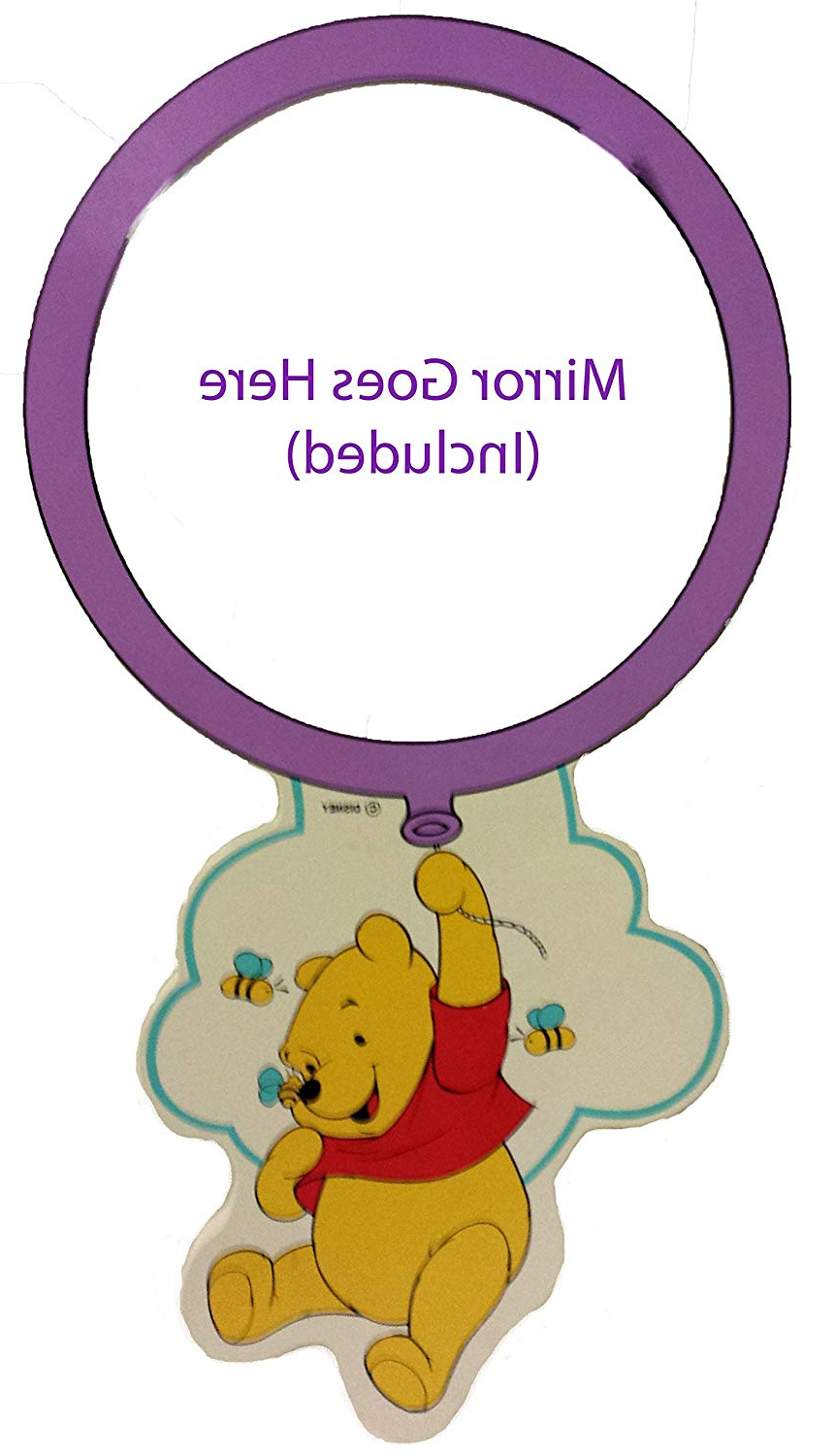 Disney Wall Mirrors Regarding Current Disney Winnie The Pooh Balloon Wall Mirror: Amazon.co (View 17 of 20)