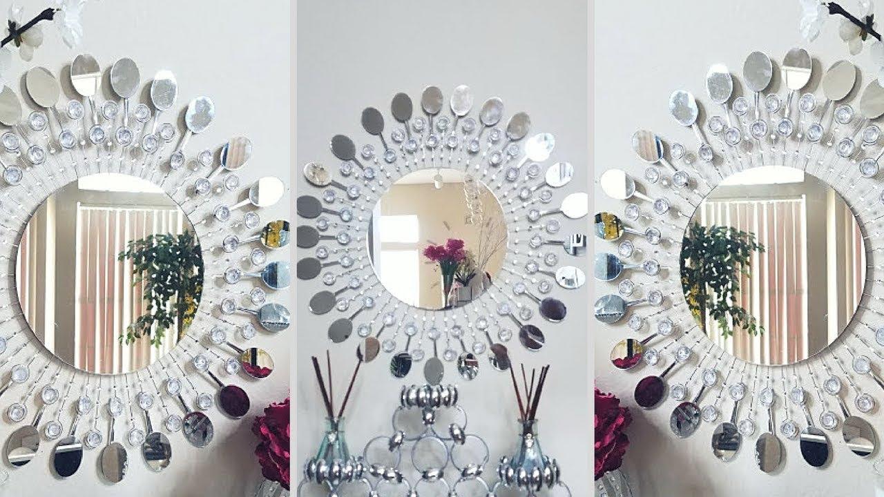 Diy Metal Clip Wall Mirror Decor (View 12 of 20)