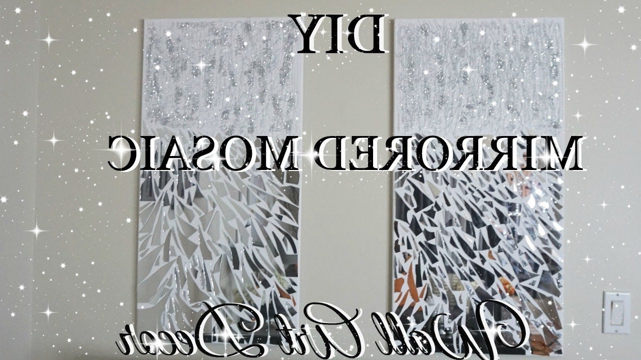 Diy Mirror Mosaic Wall Art Pier One Inspired (View 11 of 20)