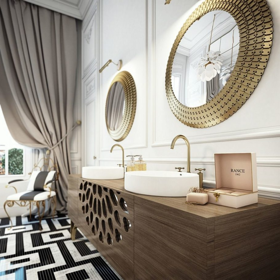 Diy Wall Mirrors Pertaining To Well Liked Furniture Breathtaking Diy Mirror Frame With Round Wall Mirrored (Gallery 19 of 20)