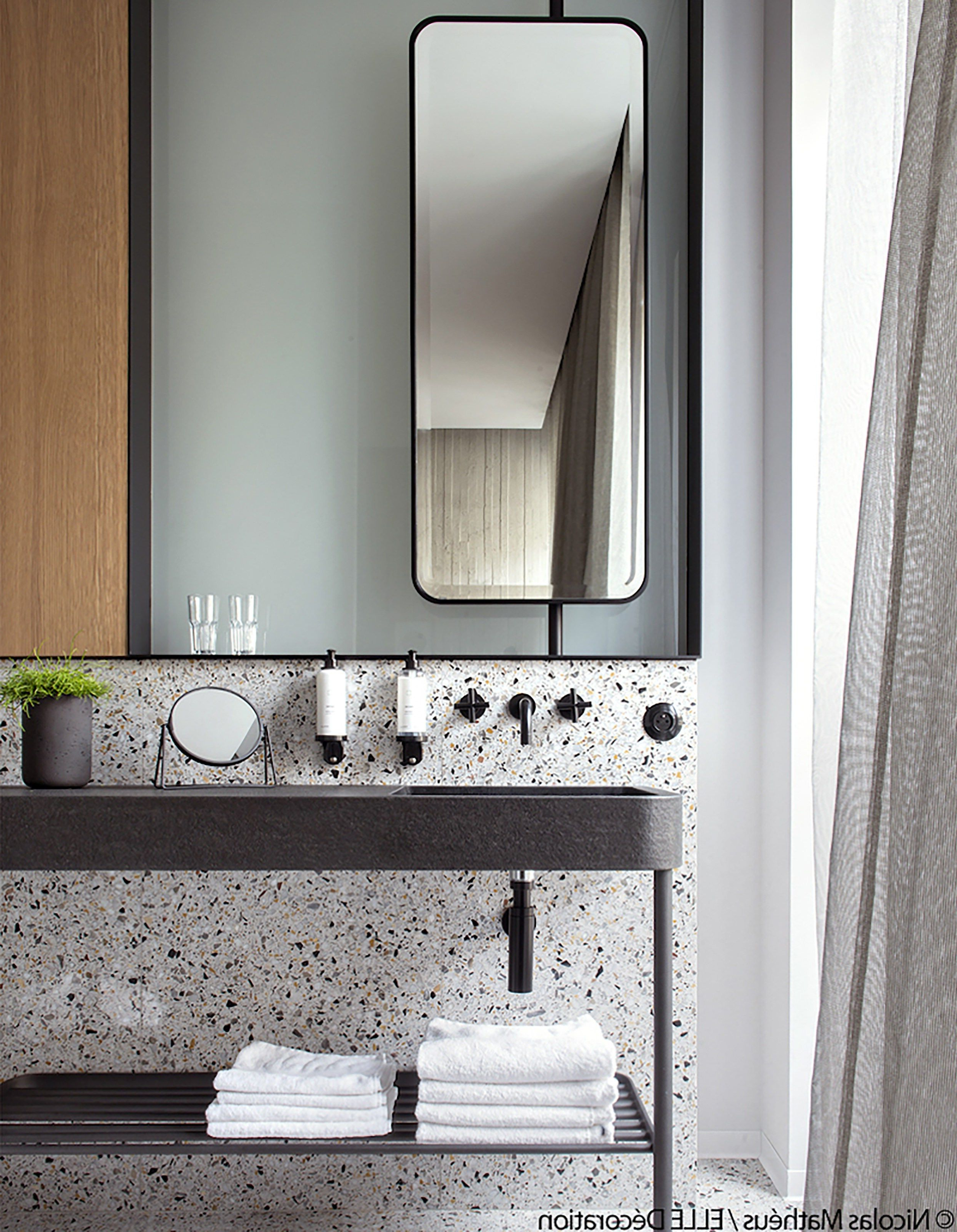 Drawers Mirror Round Ideas Thin Wall Bath Full Long Rectangular Regarding Popular Long Thin Wall Mirrors (View 6 of 20)