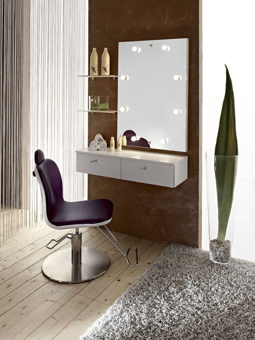 Dressing Table Design With Well Liked Makeup Wall Mirrors (Gallery 12 of 20)