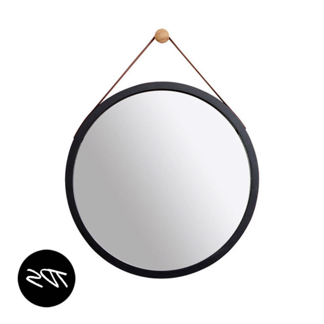 [%⚡️[instock] Isak Round Wall Mirror Black W/ Leather Strap In Trendy Round Black Wall Mirrors|round Black Wall Mirrors Intended For Current ⚡️[instock] Isak Round Wall Mirror Black W/ Leather Strap|most Recent Round Black Wall Mirrors Pertaining To ⚡️[instock] Isak Round Wall Mirror Black W/ Leather Strap|latest ⚡️[instock] Isak Round Wall Mirror Black W/ Leather Strap With Regard To Round Black Wall Mirrors%] (View 20 of 20)