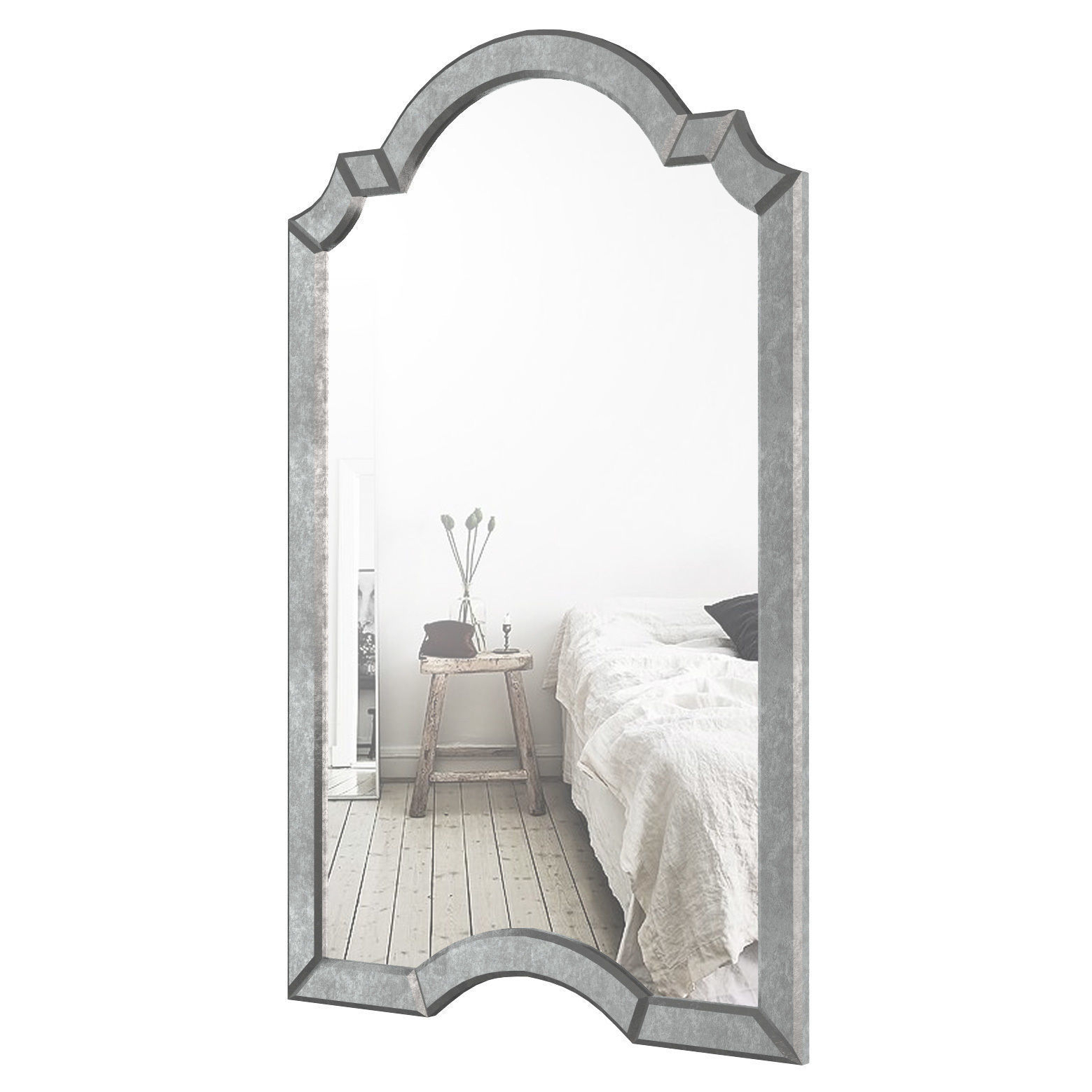 Ekaterina Arch – Crowned Top Wall Mirror Wlao (View 2 of 20)