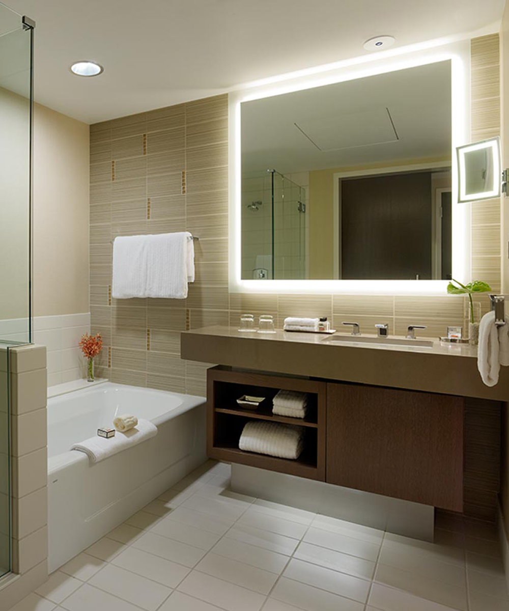 Electric Mirror® Regarding Lighted Wall Mirrors For Bathrooms (Gallery 3 of 20)