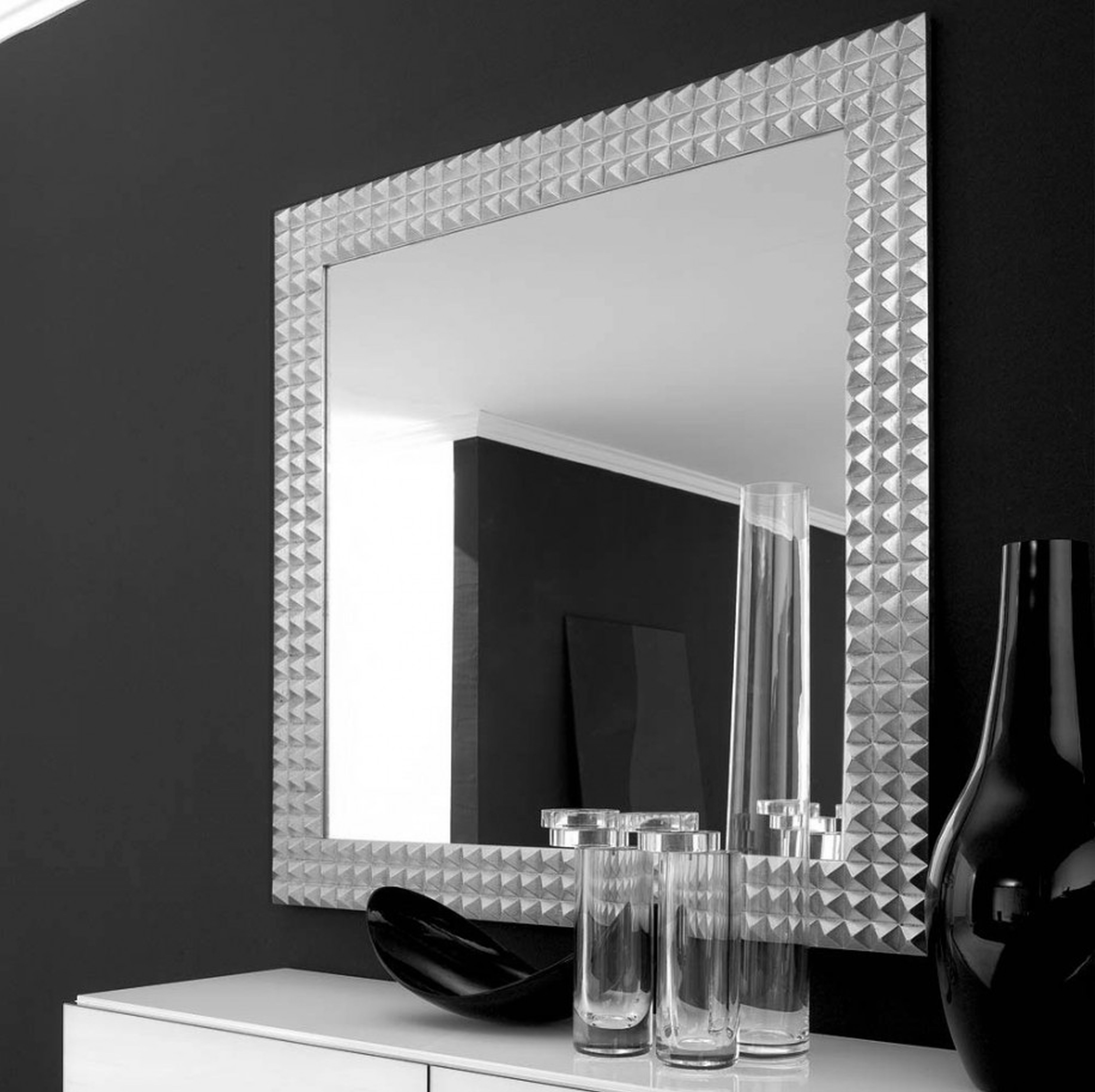 Elegant Large Wall Mirrors Throughout Newest Home Designs Designer Mirrors For Living Rooms Luxury Large Erias (Gallery 6 of 20)