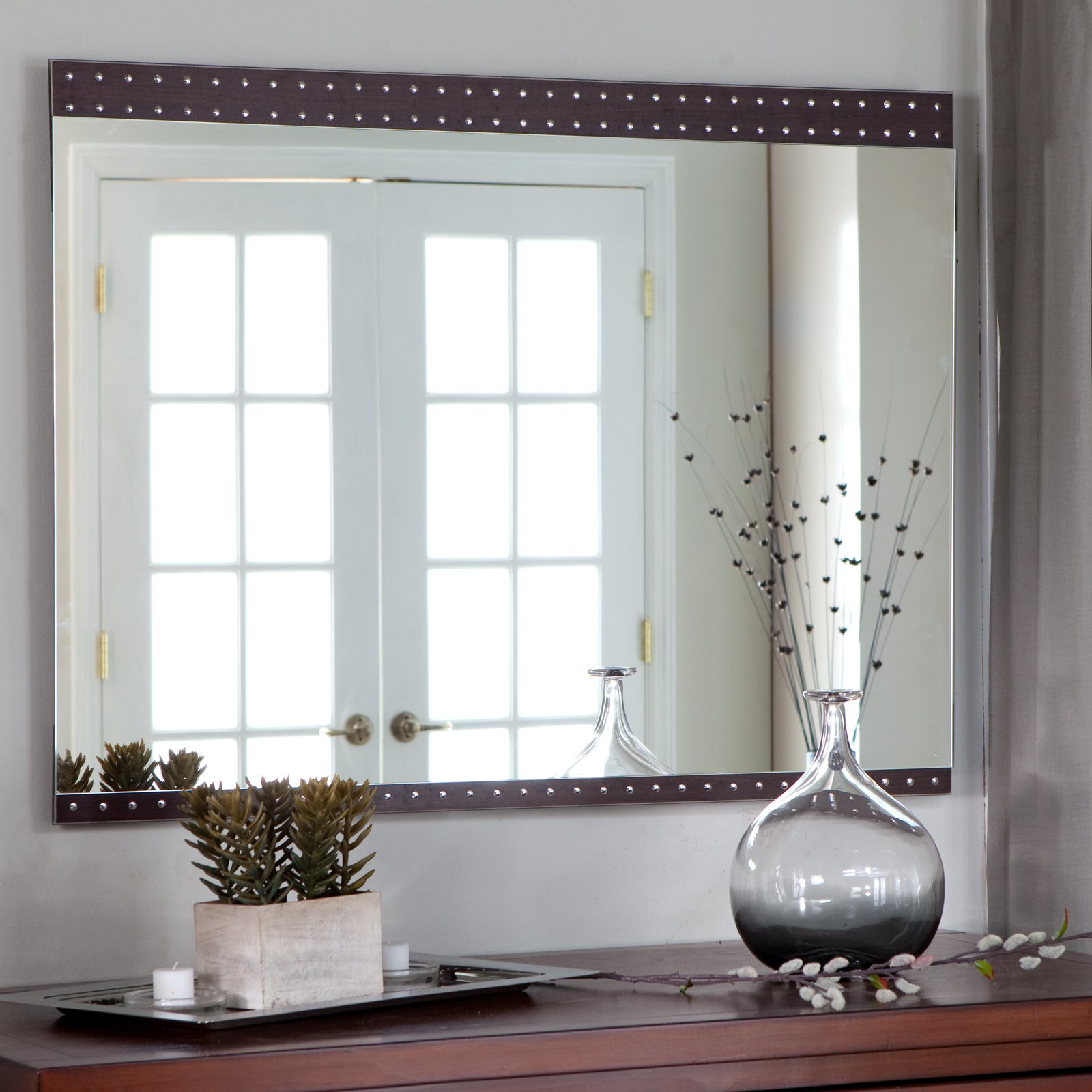 Elegant Large Wall Mirrors With Most Up To Date Elegant Large Wall Mirrors : Home Decorations Insight – Large Wall (Gallery 7 of 20)