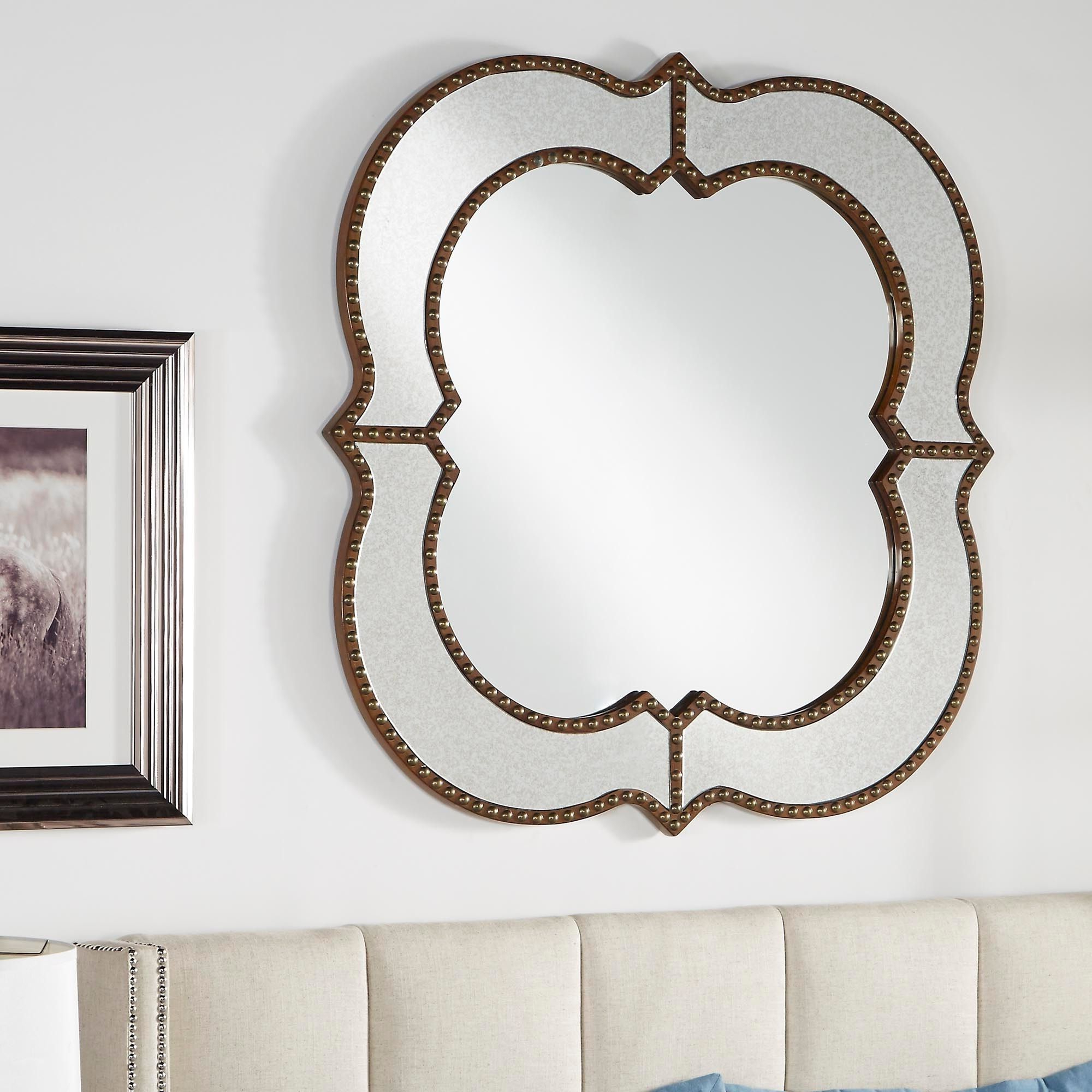 Elevate Wall Mirrors Within 2020 Decorate Your Home With This Antique Style Wall Mirror (View 15 of 20)