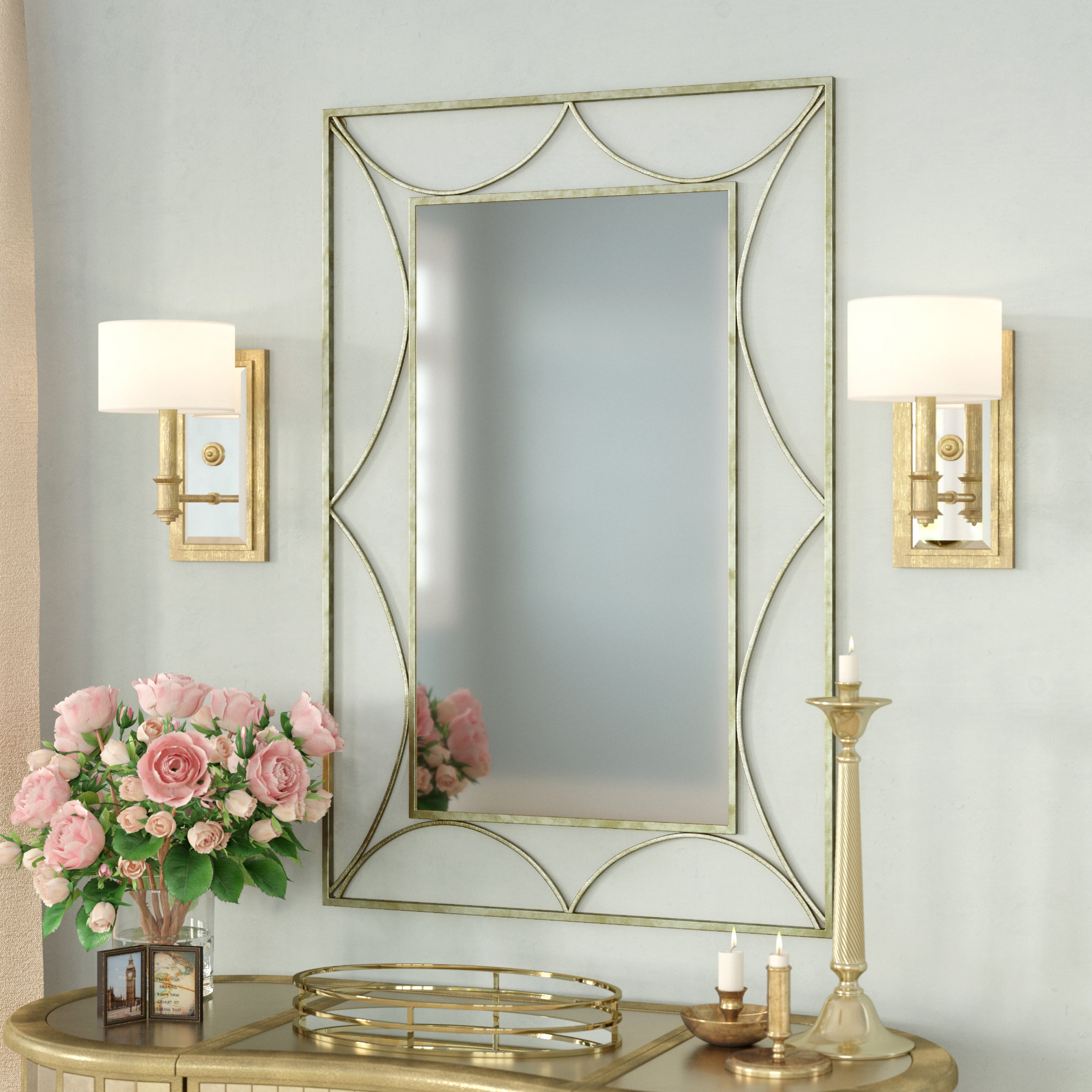 Ellesmere Wall Accent Mirror Intended For Best And Newest Ulus Accent Mirrors (Gallery 15 of 20)