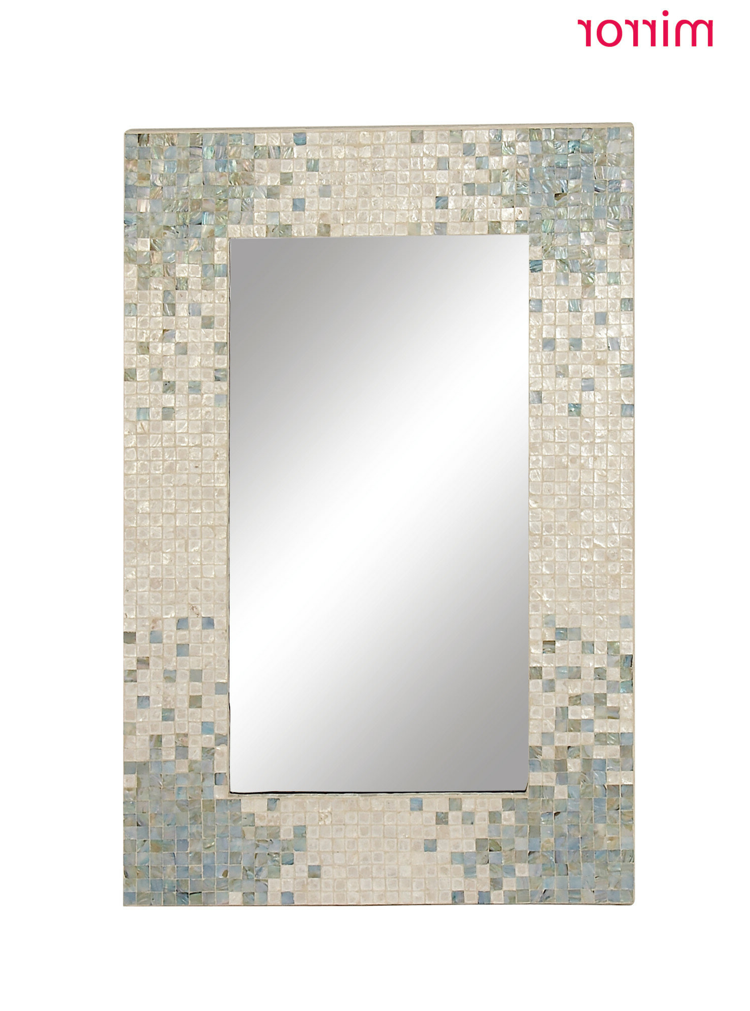 Elliott Modern & Contemporary Accent Mirror With Well Known Point Reyes Molten Round Wall Mirrors (View 5 of 20)
