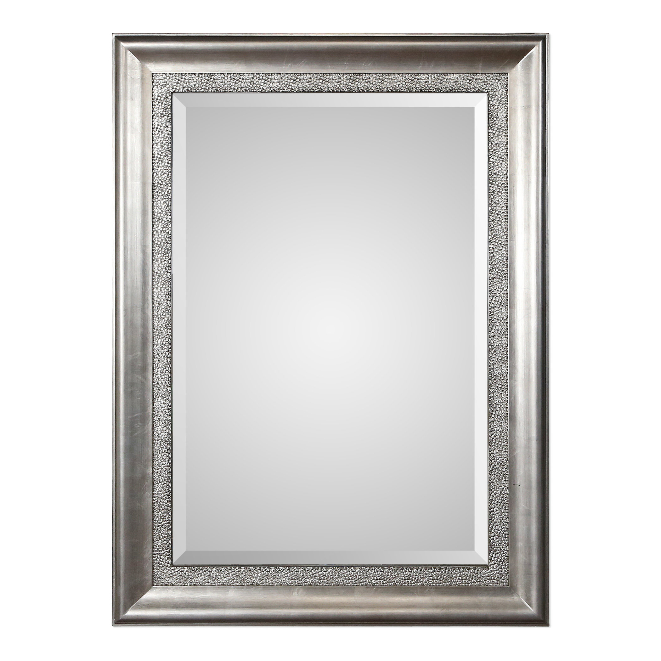 Eriq Framed Wall Mirrors In Recent Ellie Bevelled Silver Wall Mirror (View 9 of 20)
