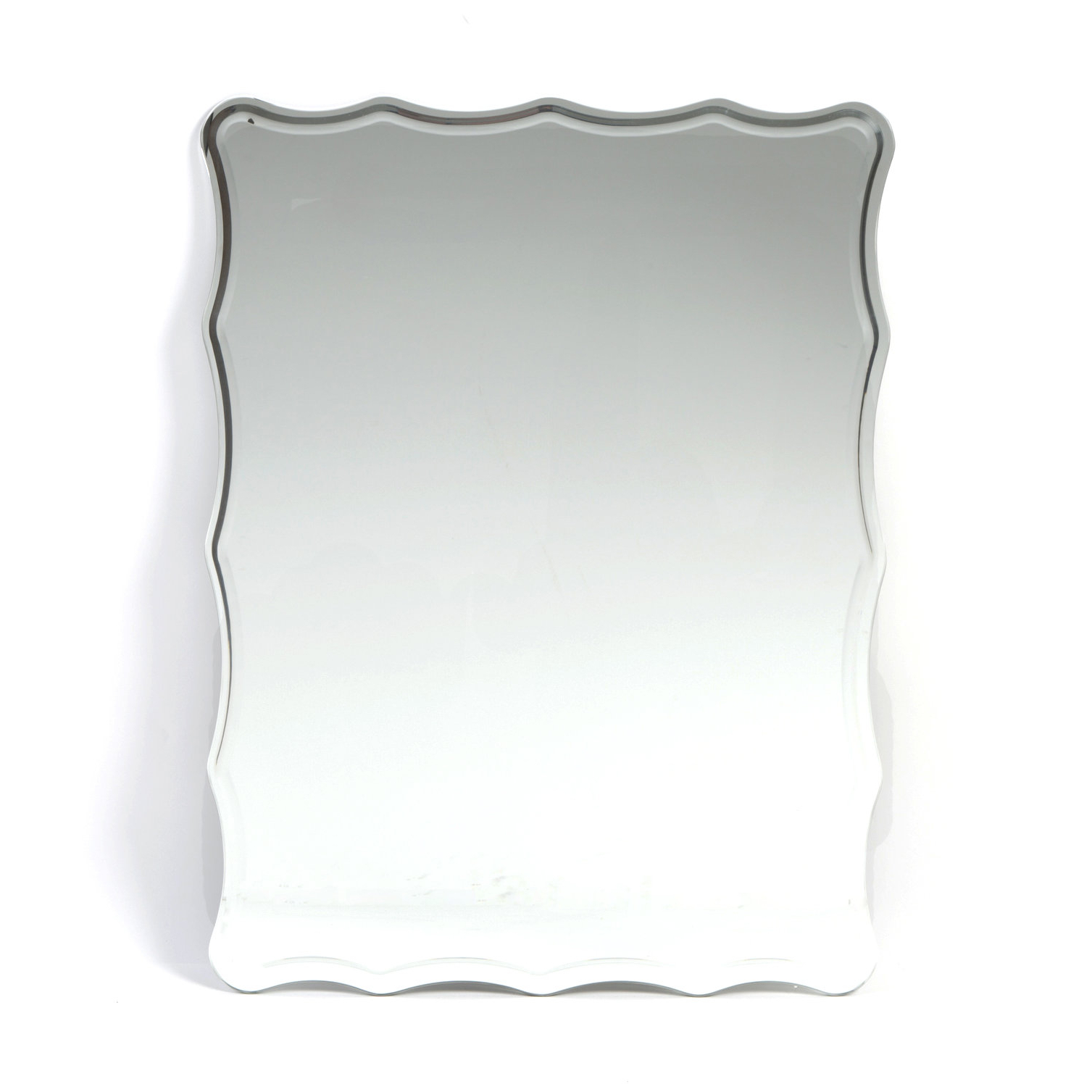 Estefania Frameless Wall Mirror Pertaining To 2019 Estefania Frameless Wall Mirrors (View 6 of 20)