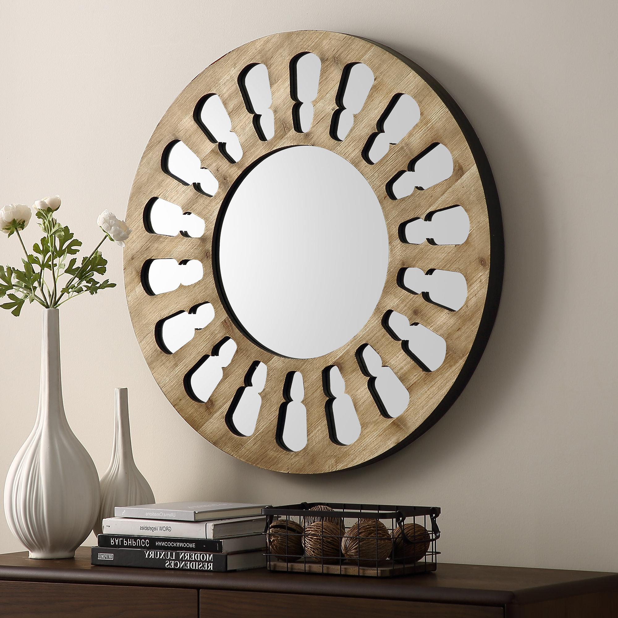 Estevao Accent Mirror In Best And Newest Juliana Accent Mirrors (View 8 of 20)