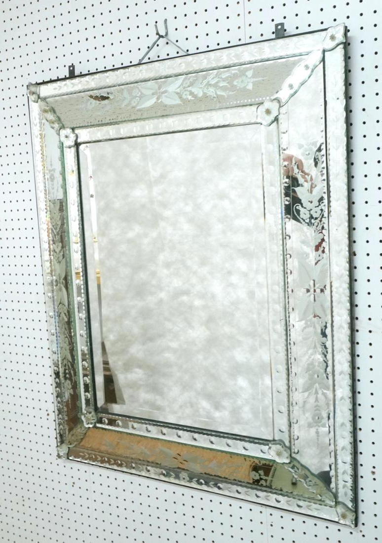 Etched Wall Mirror Vintage Fancy Mirrors Uk – Jinevijoya (View 15 of 20)