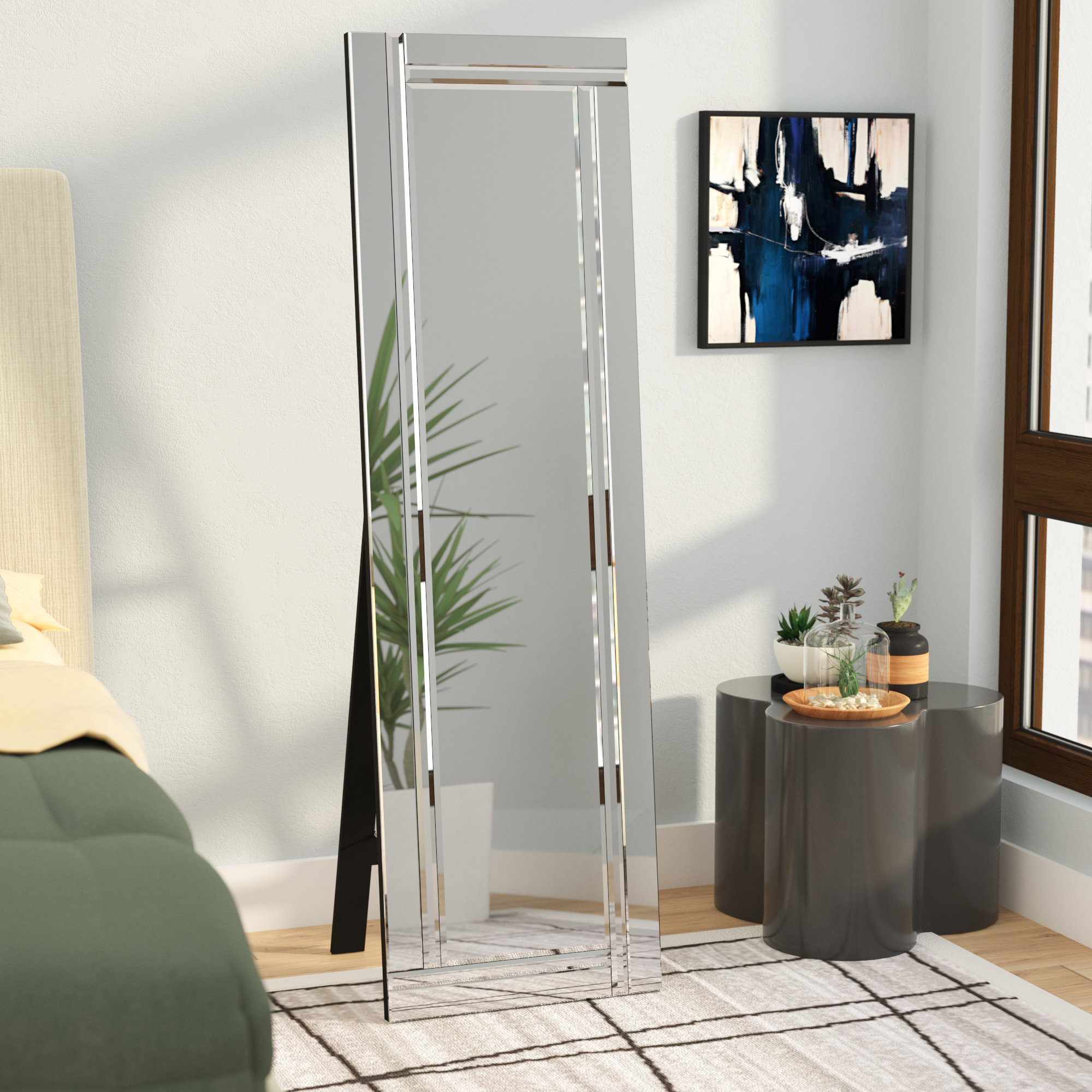 Exciting Full Wall Mirror Design Clos Designer Modern Colorful Ideas With Regard To Most Popular Entire Wall Mirrors (Gallery 14 of 20)