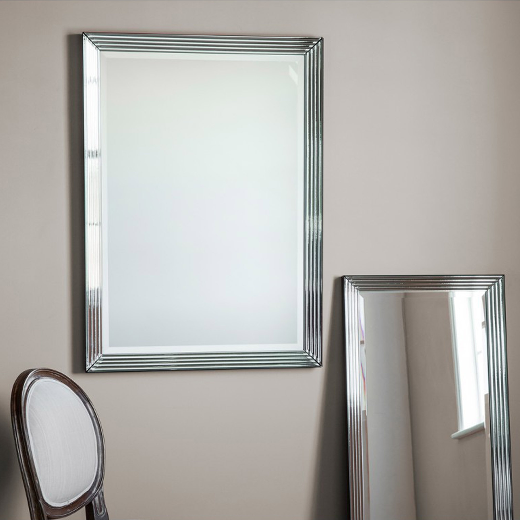 Exeter Rectangular Wall Mirror For Famous Oblong Wall Mirrors (View 12 of 20)