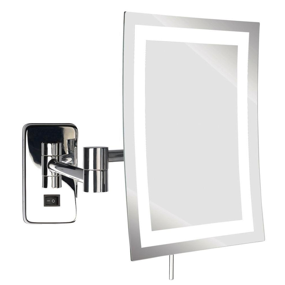 Extendable Wall Mirrors Throughout 2019 Light Up Magnifying Mirror Large Decorative Mirrors Hallway Mirrors (View 9 of 20)