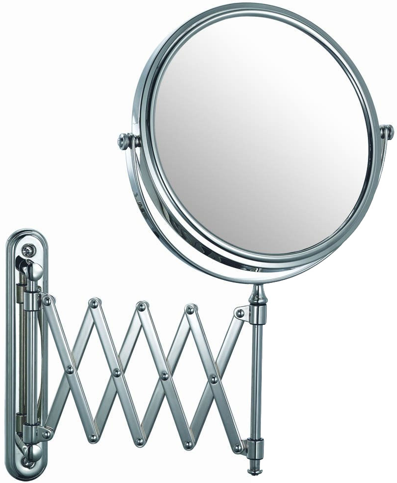 Extendable Wall Mirrors Within Best And Newest Extendable Wall Mirror – Chrome In Wall Mirrors (View 12 of 20)